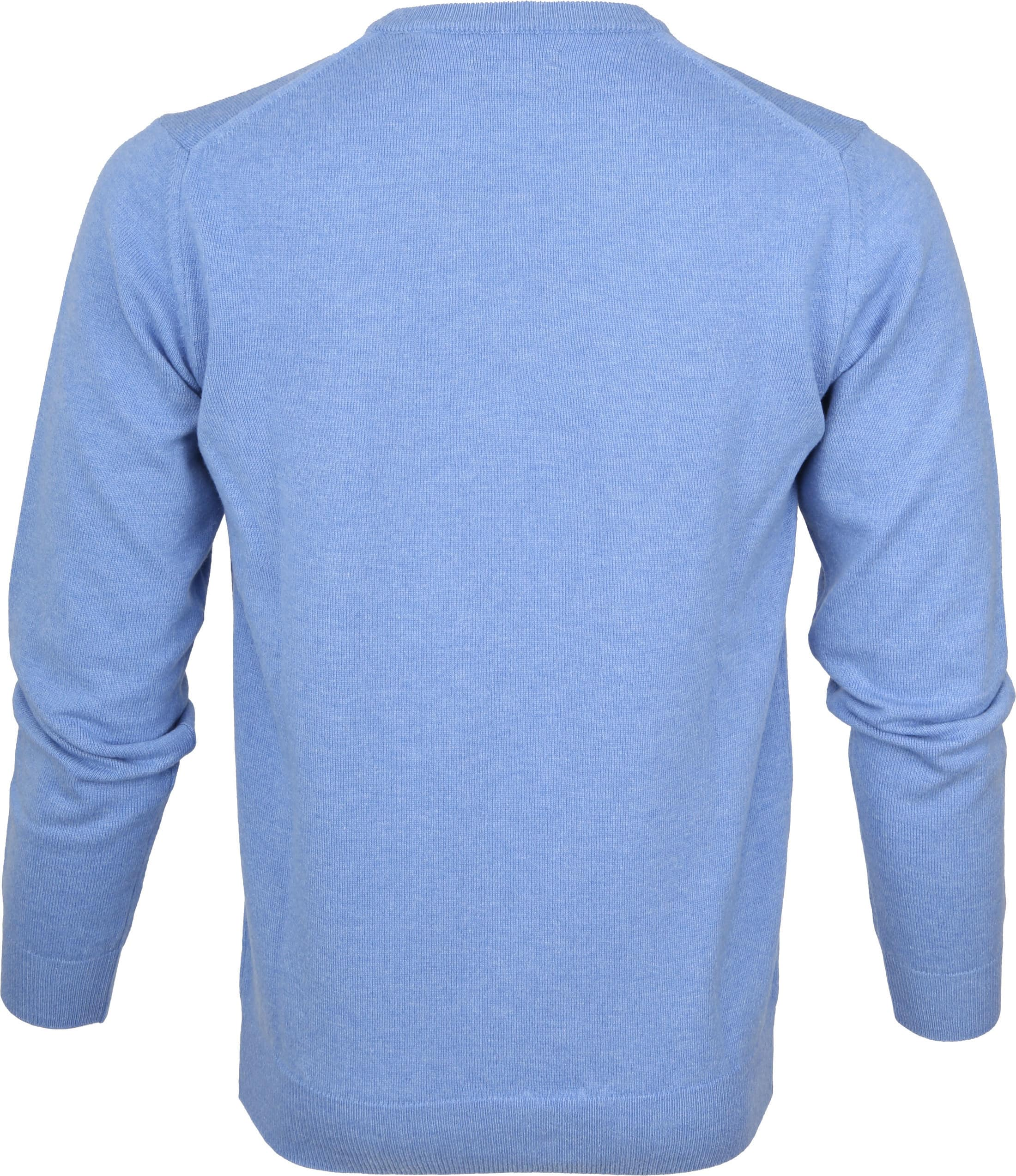 Gant Pullover Lammwolle Light Blue foto 2