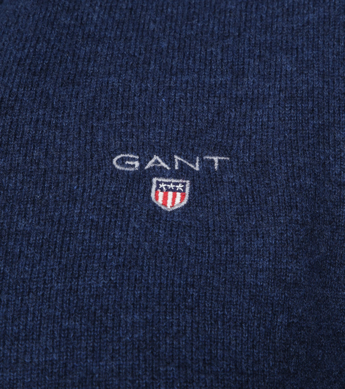 Gant Pullover Lamswol Blauw foto 1