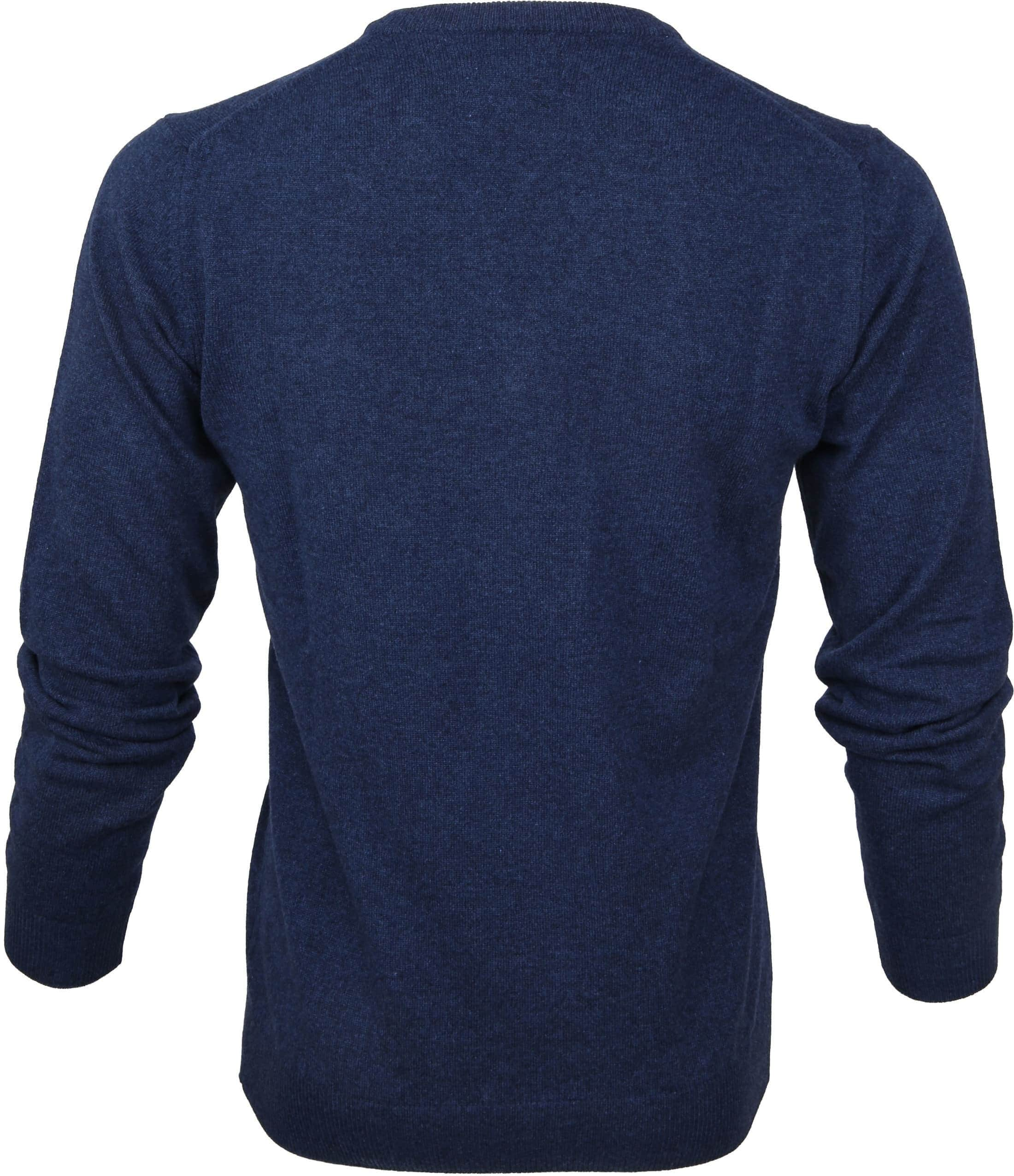 Gant Pullover Lamswol Blauw foto 2