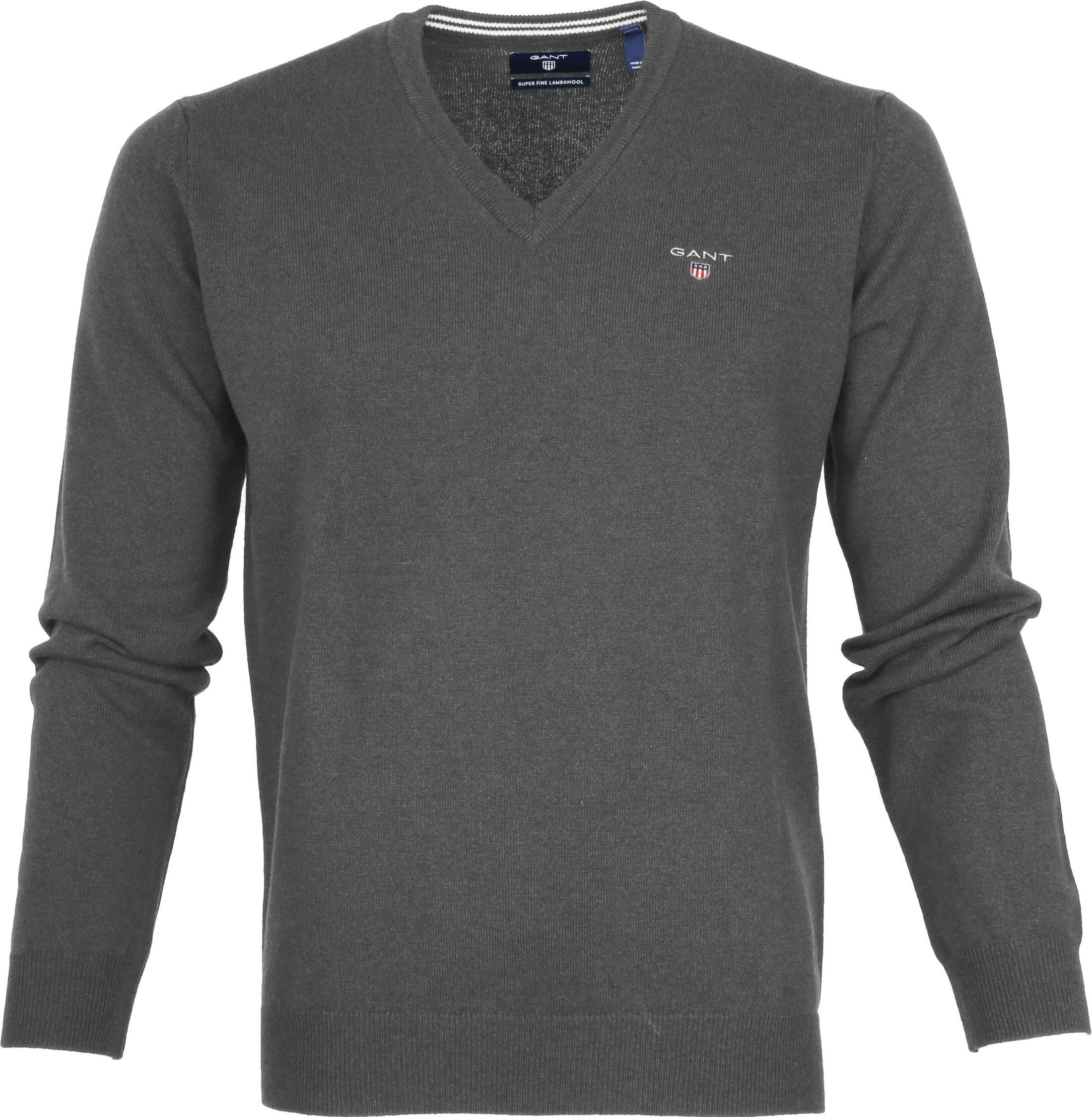 Gant Pullover Lamswol Charcoal foto 0