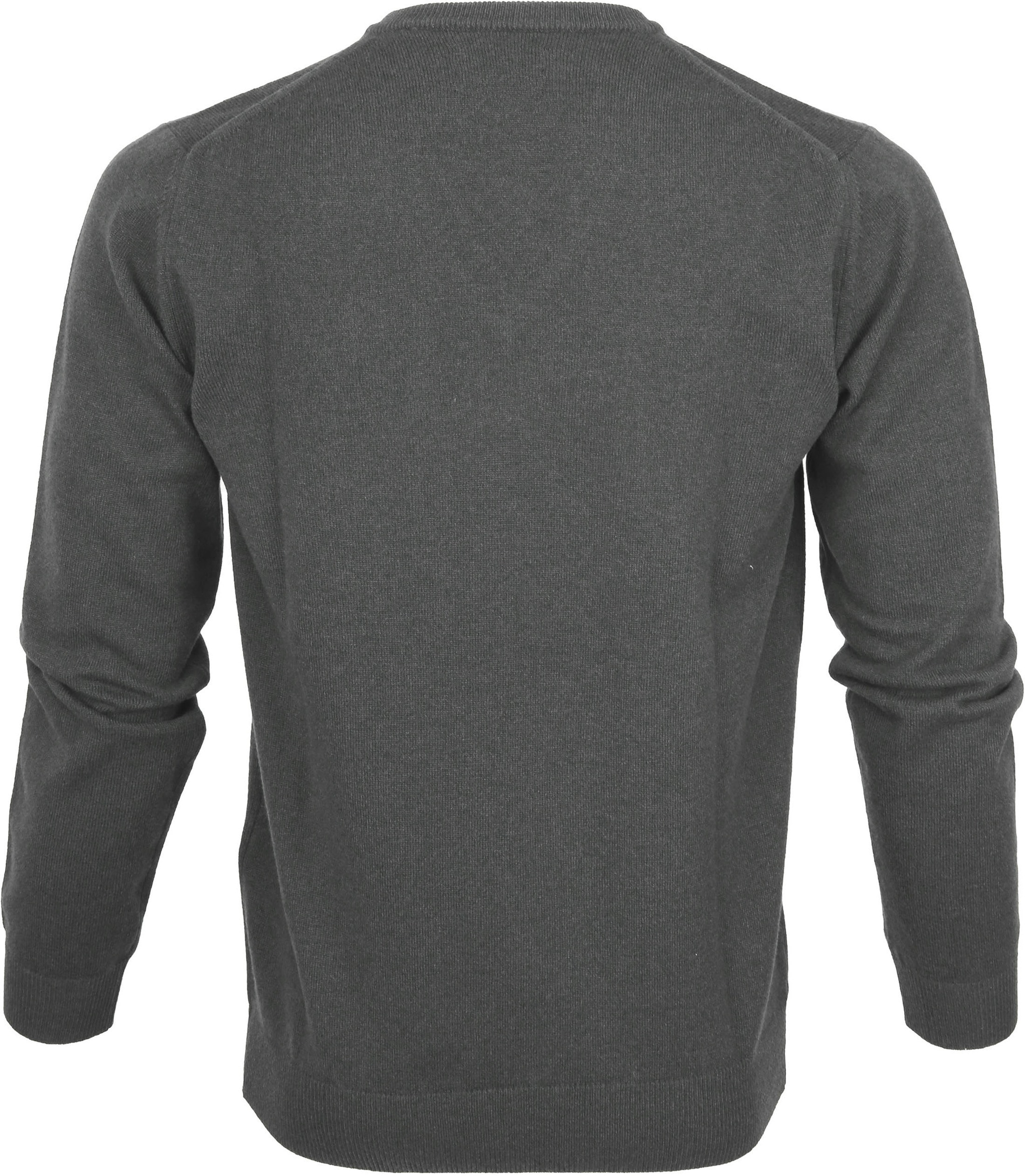 Gant Pullover Lamswol Charcoal foto 2