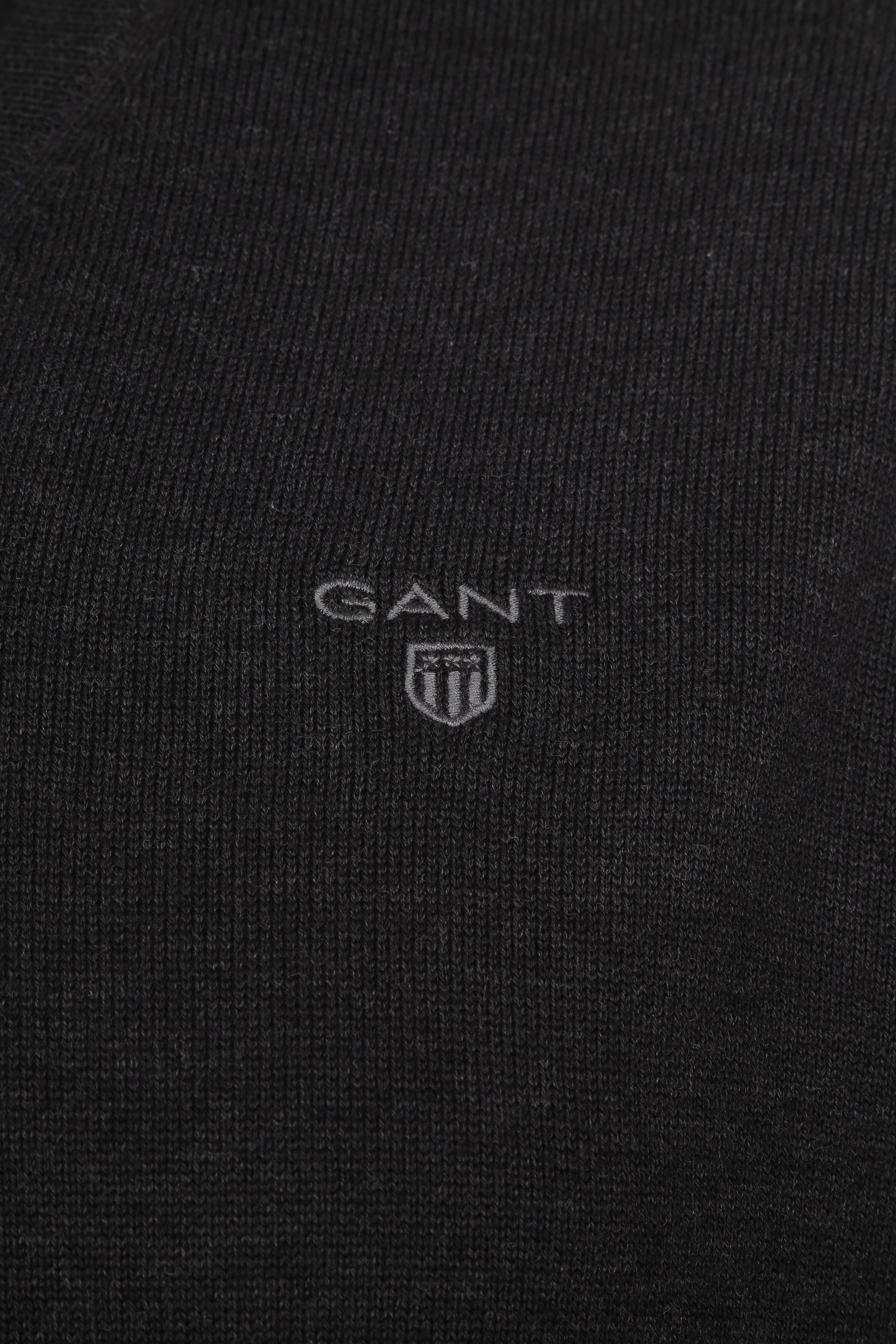 Gant Pullover Premium V-Hals Antraciet foto 1