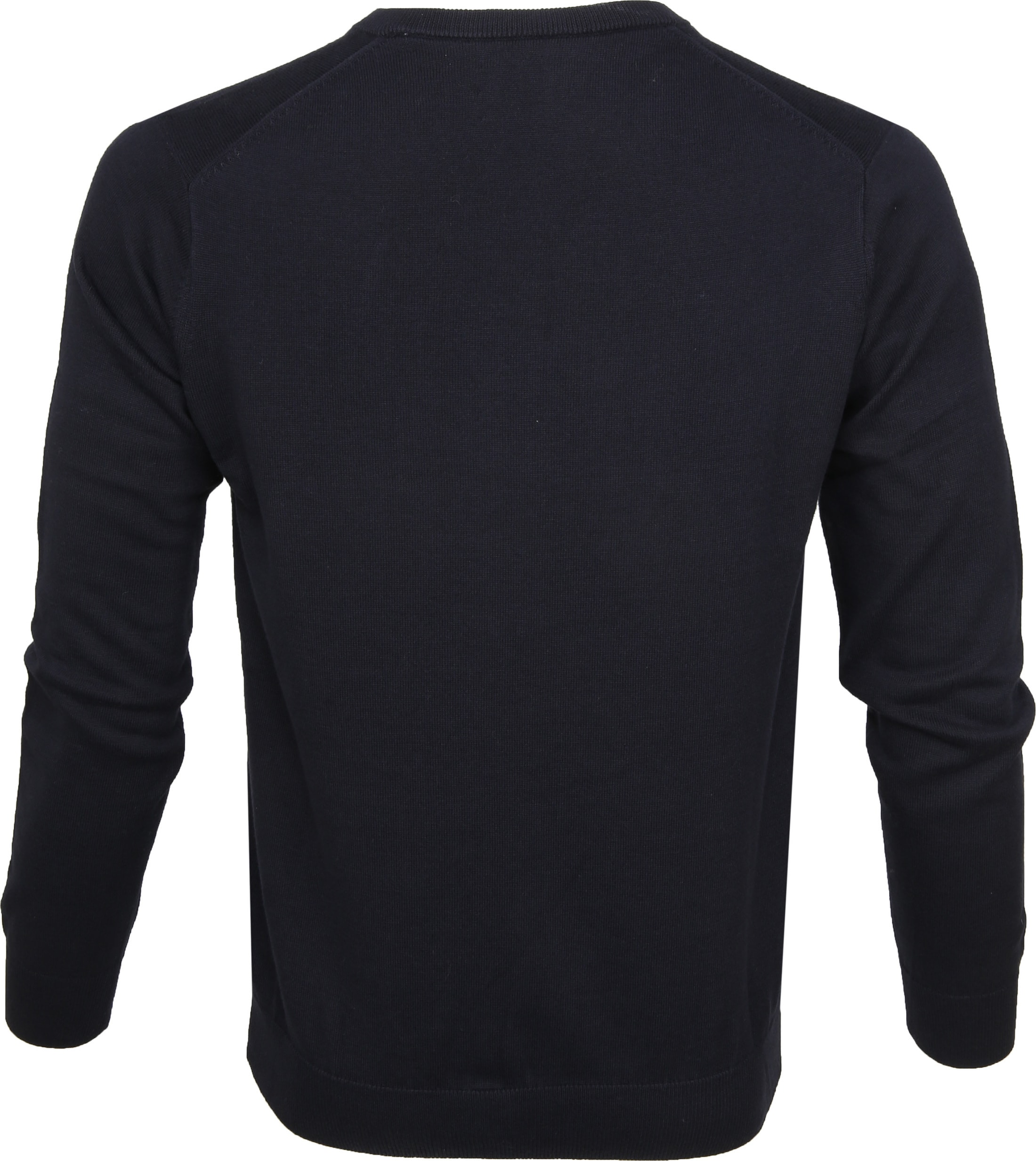 Gant Pullover Premium V-Hals Navy foto 2
