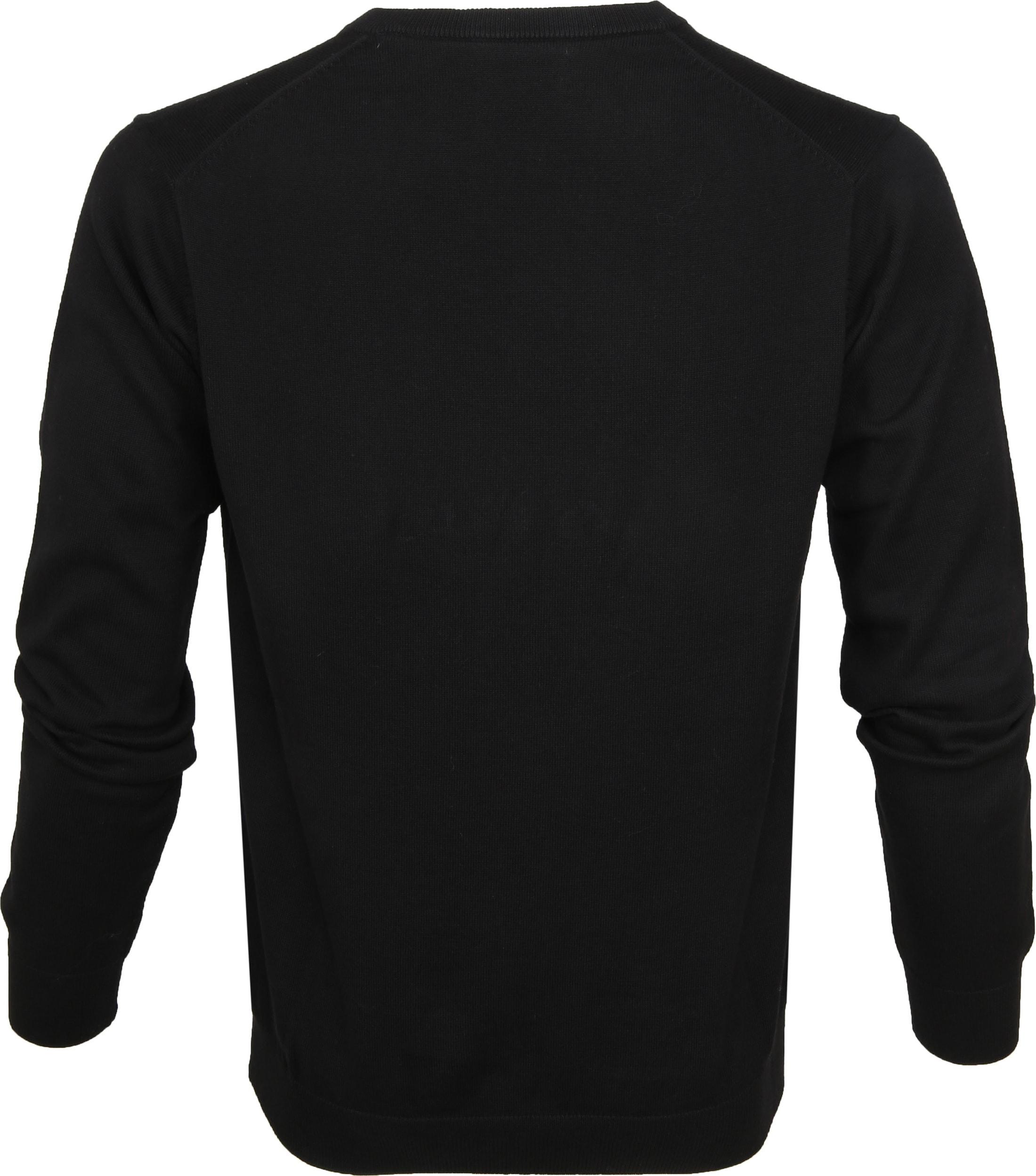 Gant Pullover Premium V-Hals Zwart foto 2