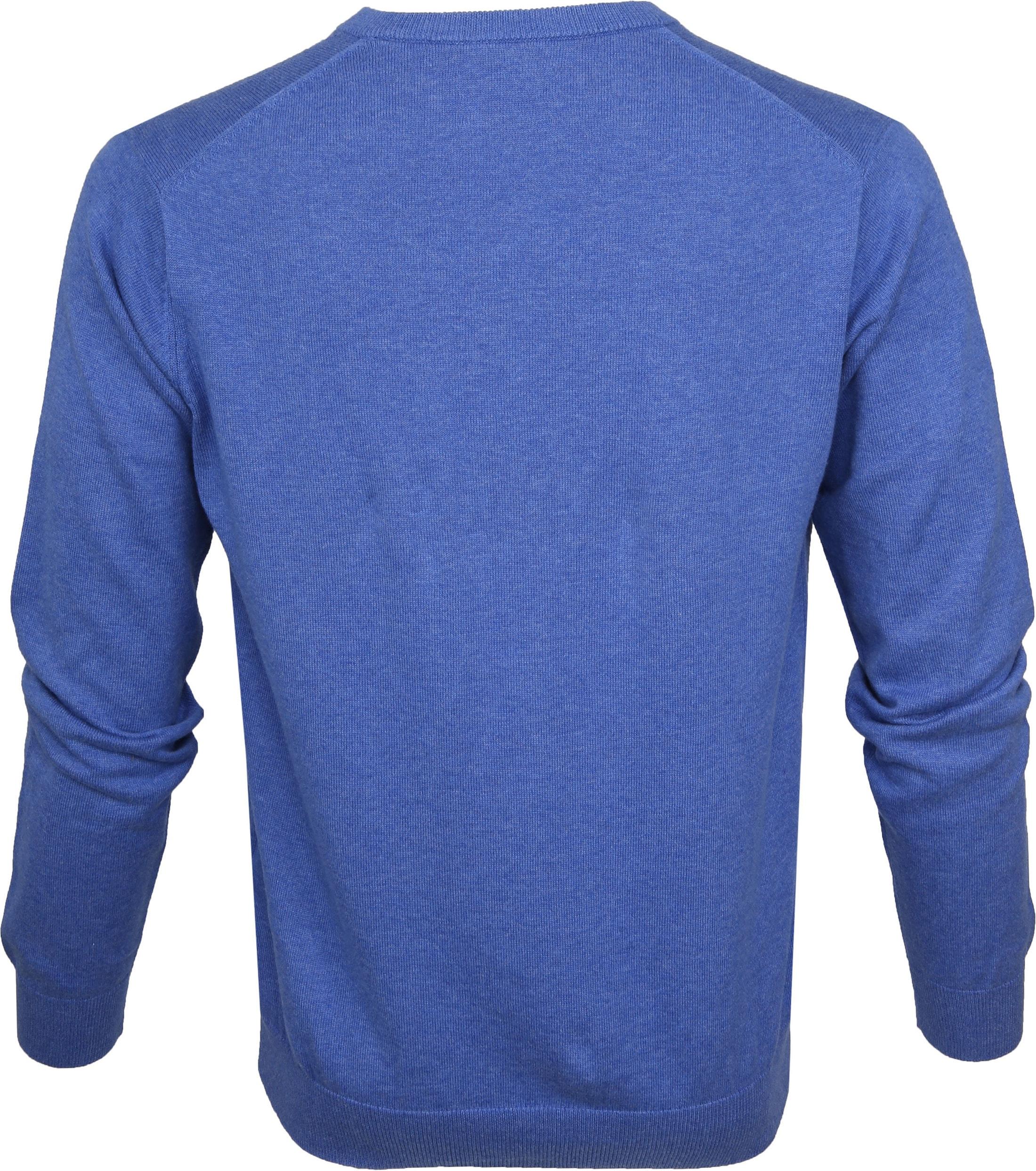 Gant Pullover Premium V-Neck Blue foto 2