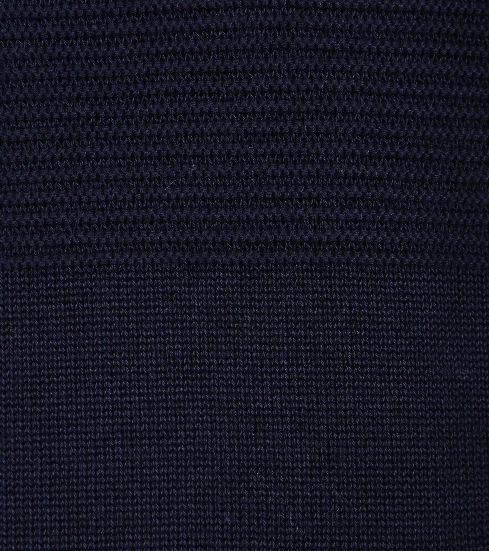 Gant Pullover Zipper Dessin Navy foto 2