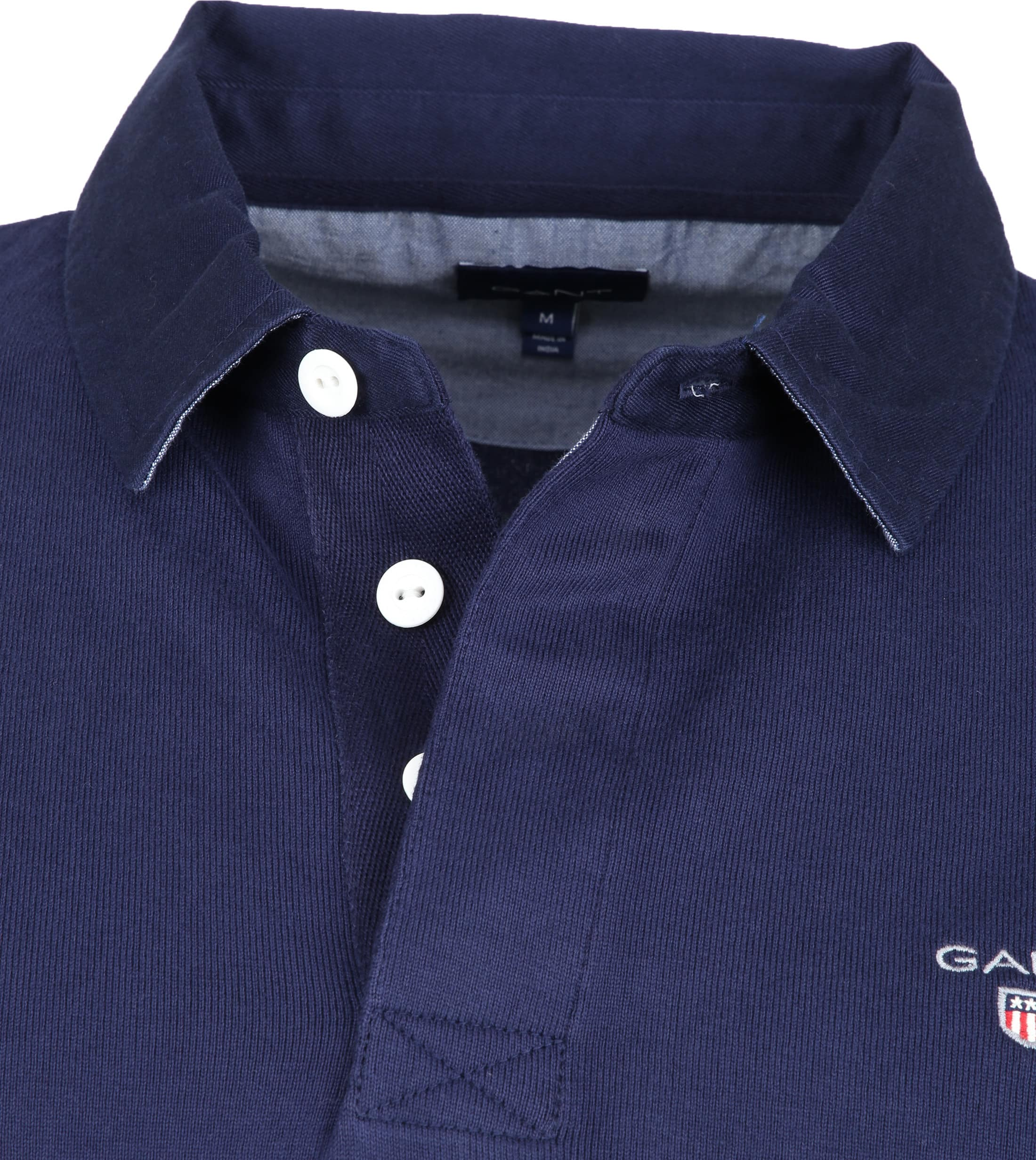 Gant Rugger Poloshirt LS Navy foto 1
