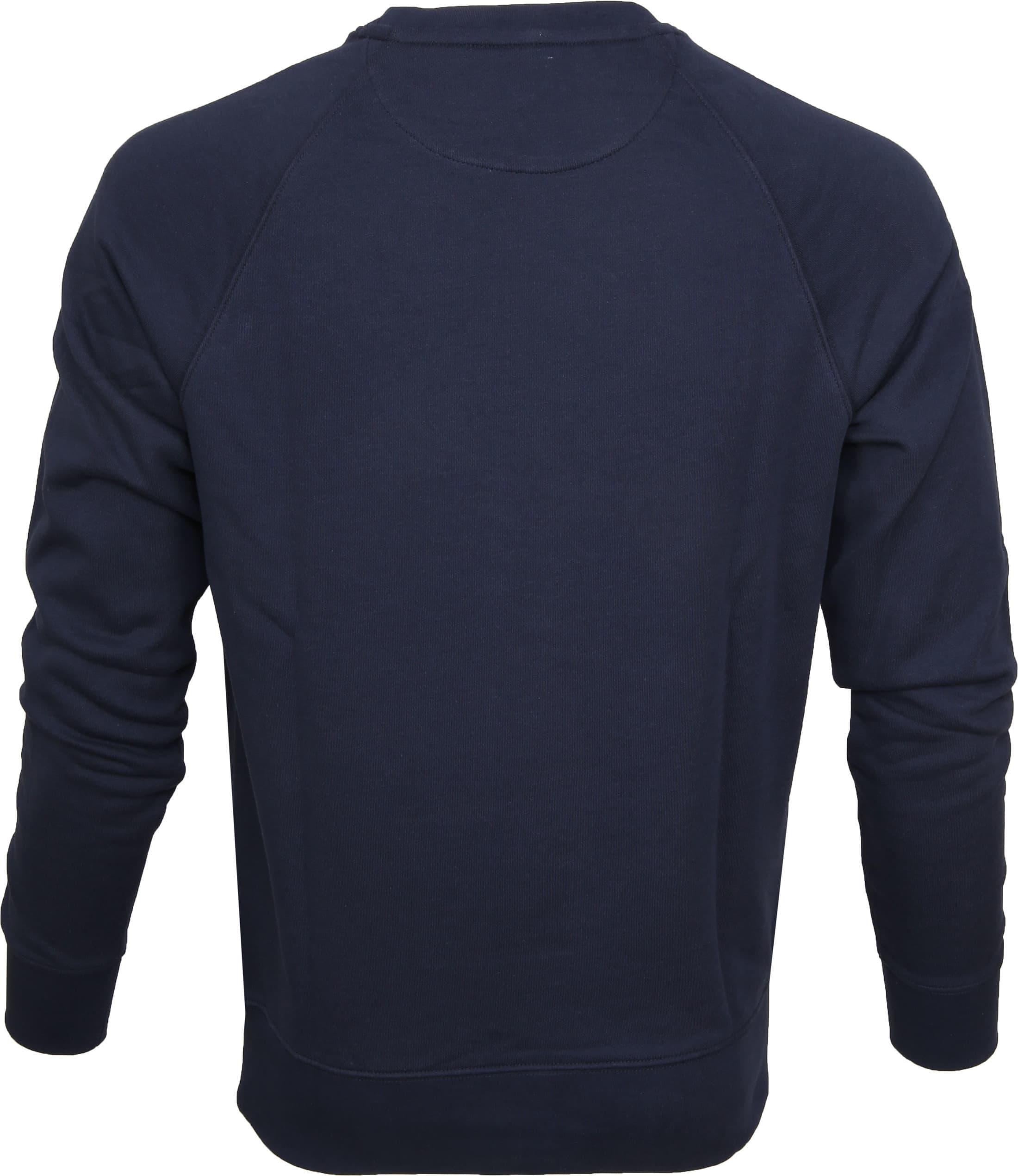 Gant Shield Sweater Dunkelblau foto 2