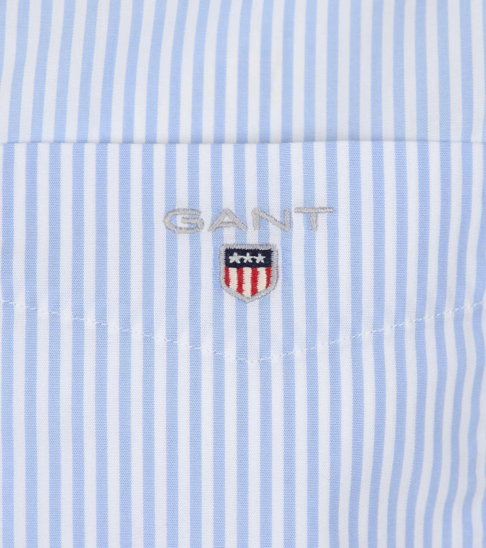 Gant Shirt Streep Blauw