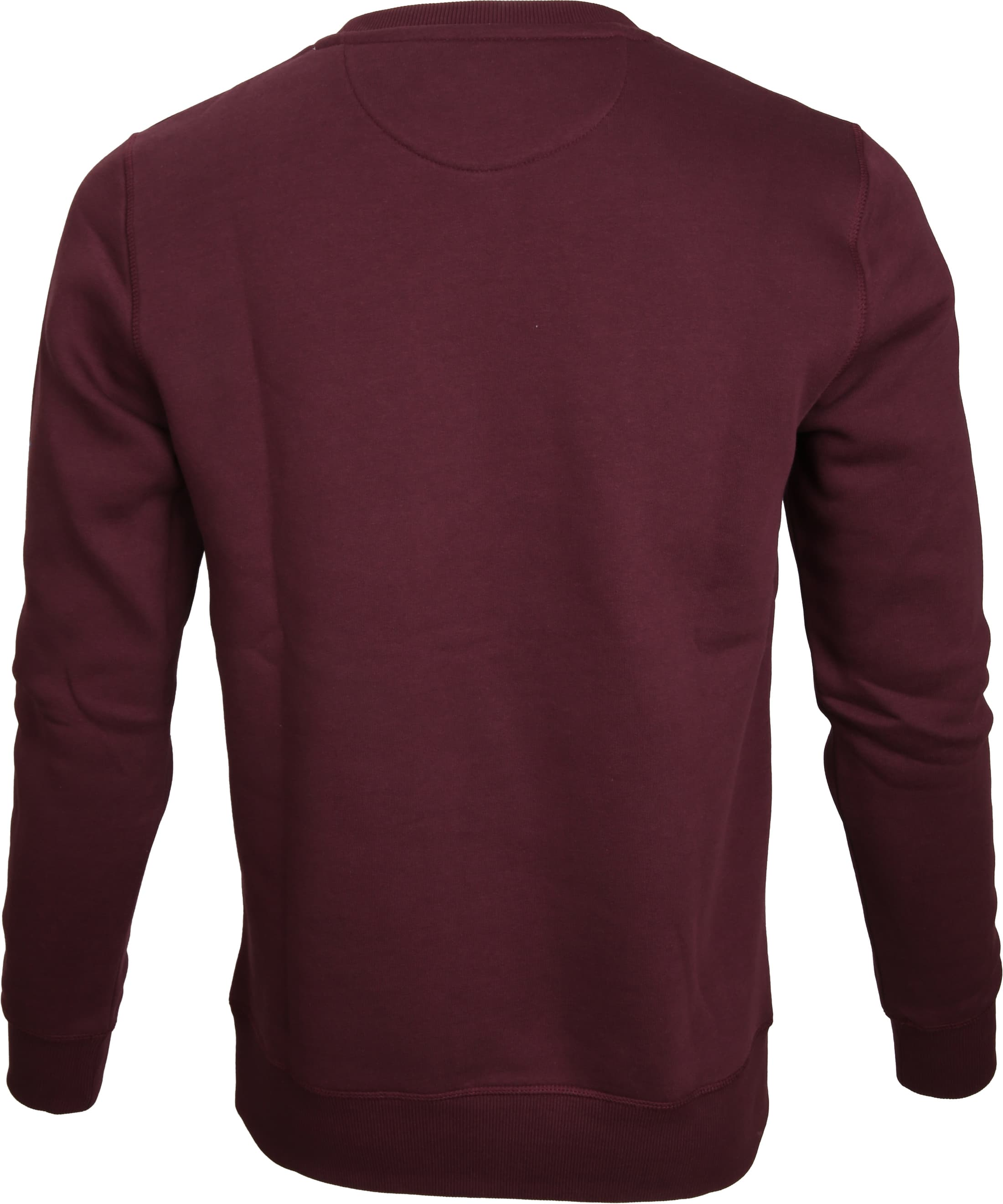 Gant Sweater Logo Purple Fig foto 2