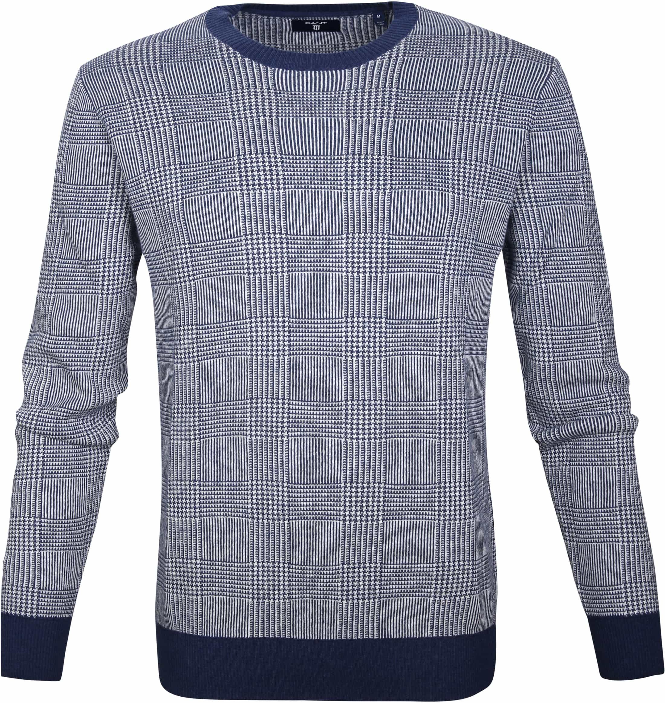 Gant Sweater Marine Melange foto 0