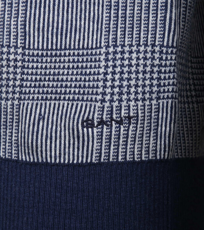 Gant Sweater Marine Melange foto 2