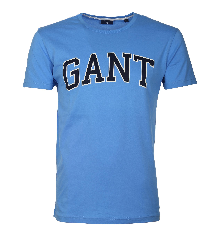 Gant T Shirt Outline Pacific Blue Foto 0