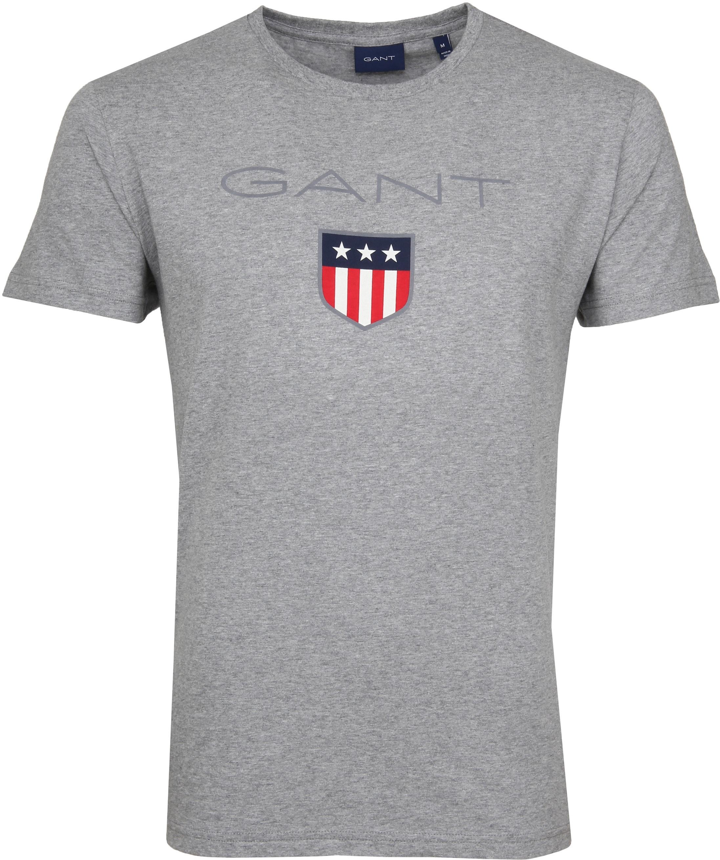 Gant T-shirt Shield Grey foto 0