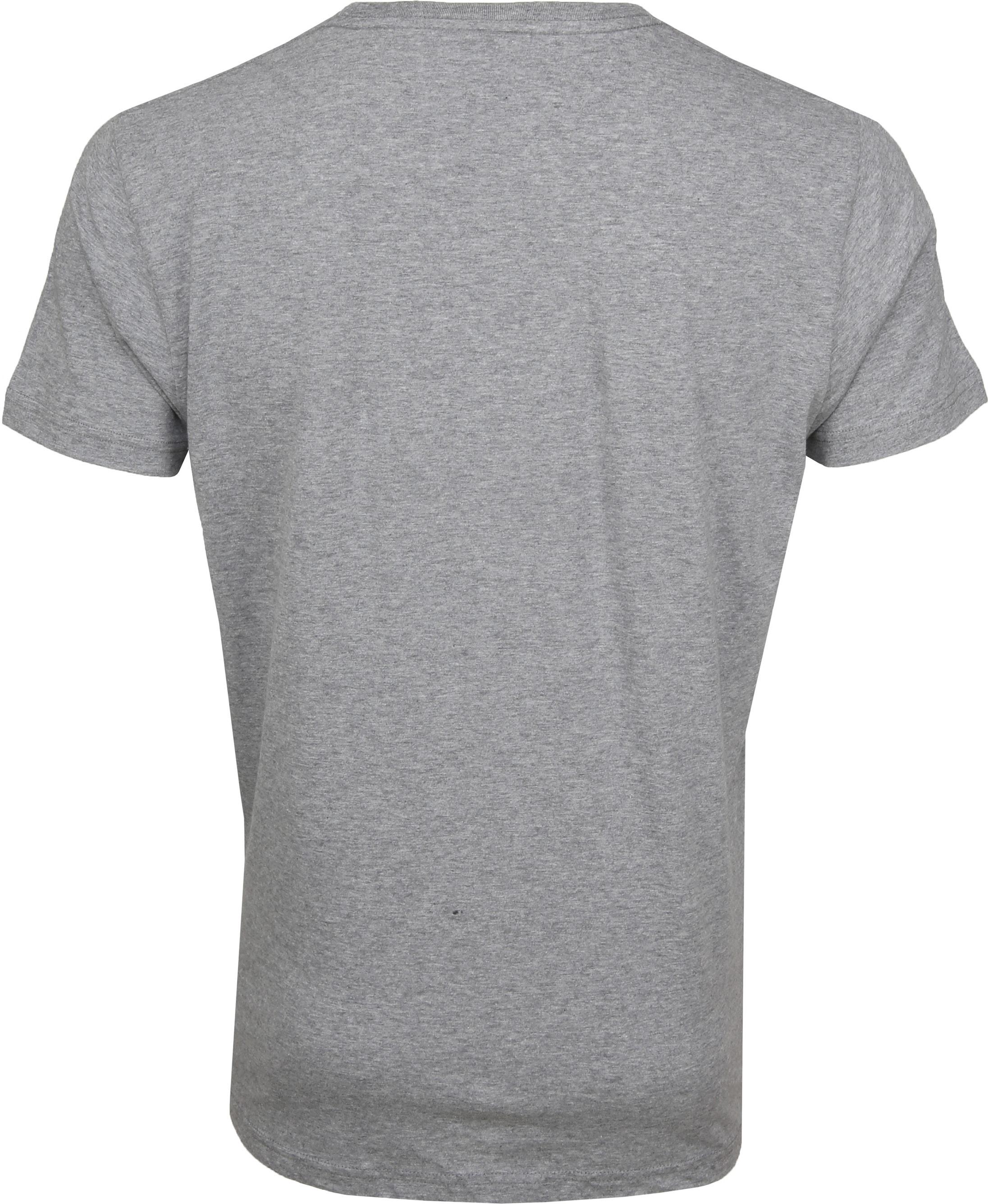 Gant T-shirt Shield Grey foto 2