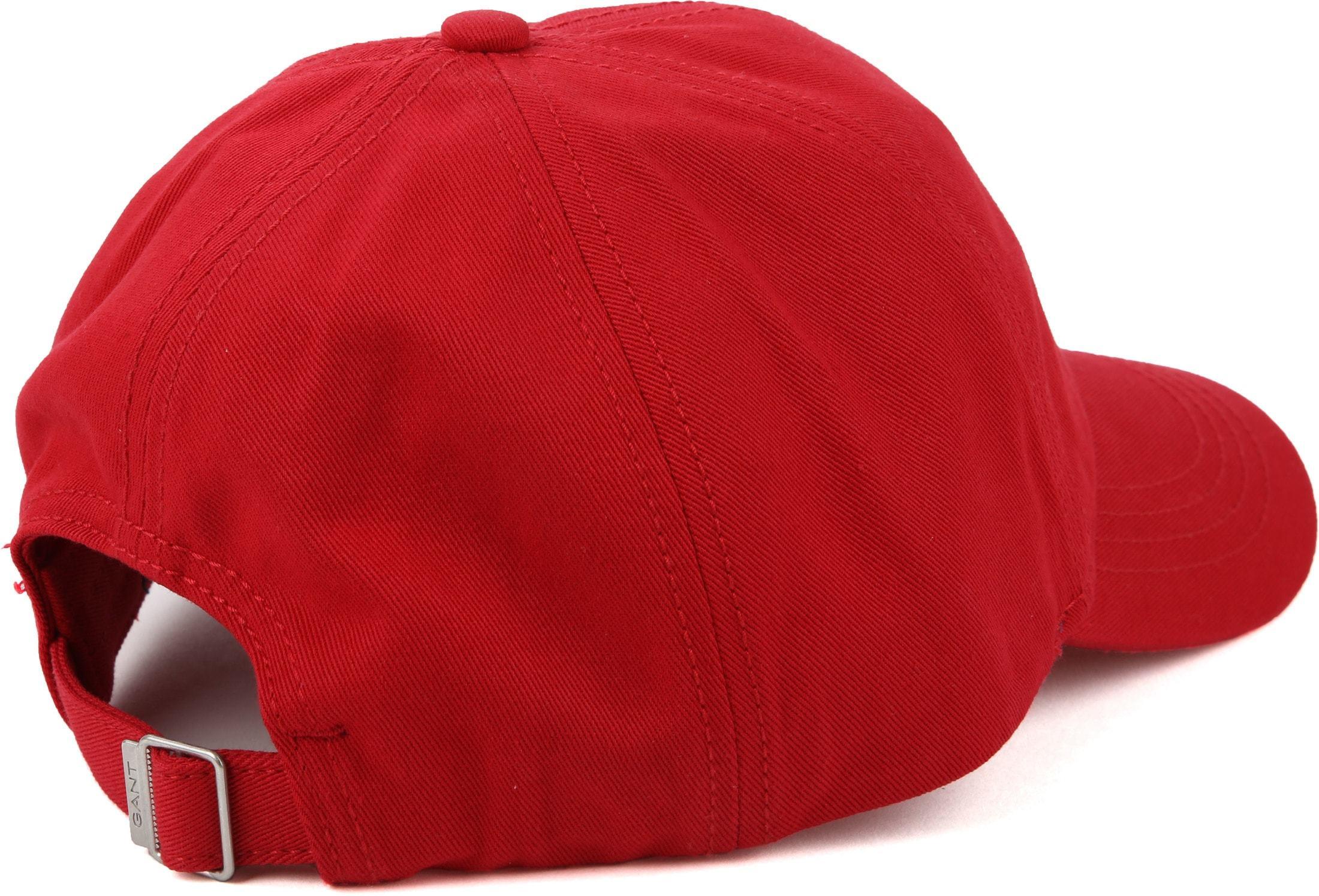 Gant Twill Cap Red foto 2