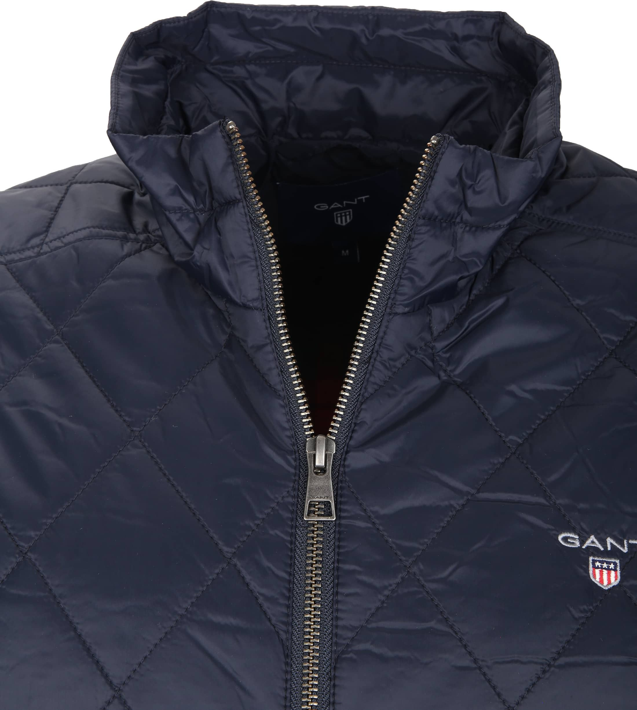 factory authentic 60f06 d83ae Gant Windcheater Jacke Quilted Navy 7001539-405 online ...