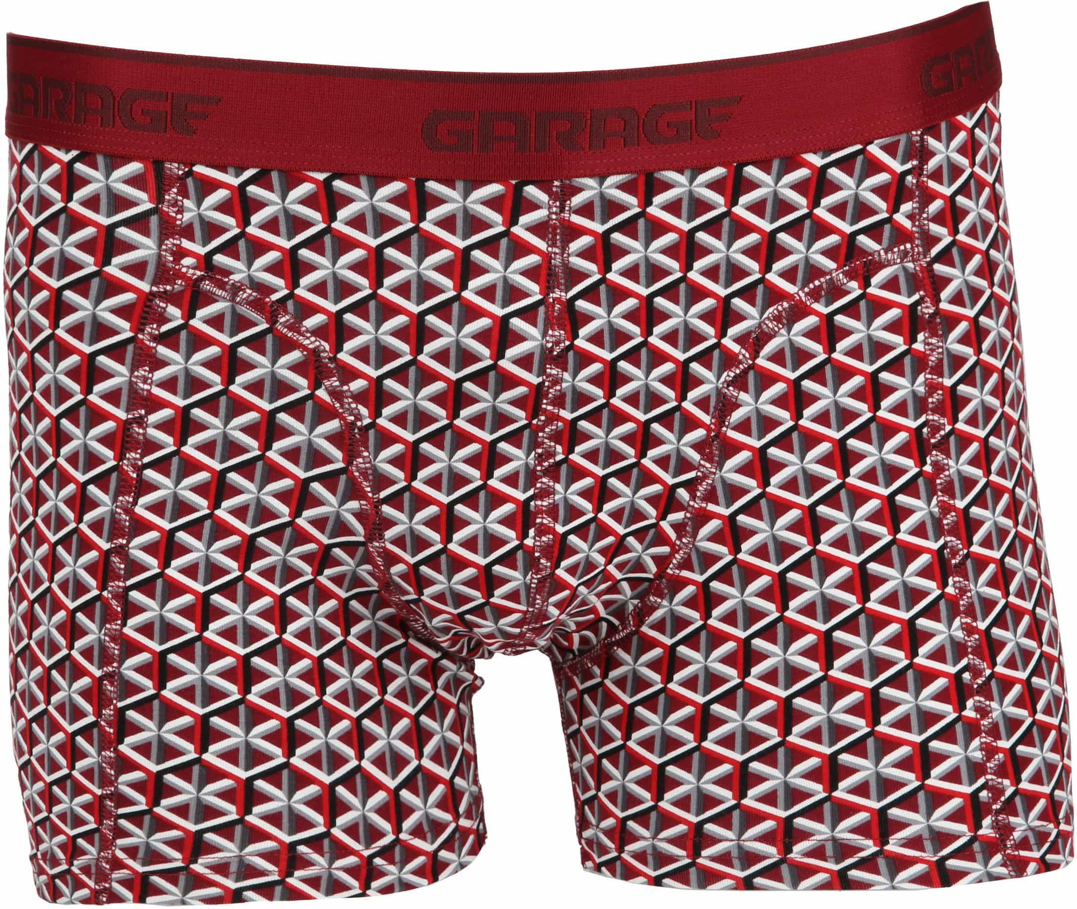 8965bf98b584ca Garage Boxershort Nevada Dreieck Rot 0802 online kaufen | Suitable