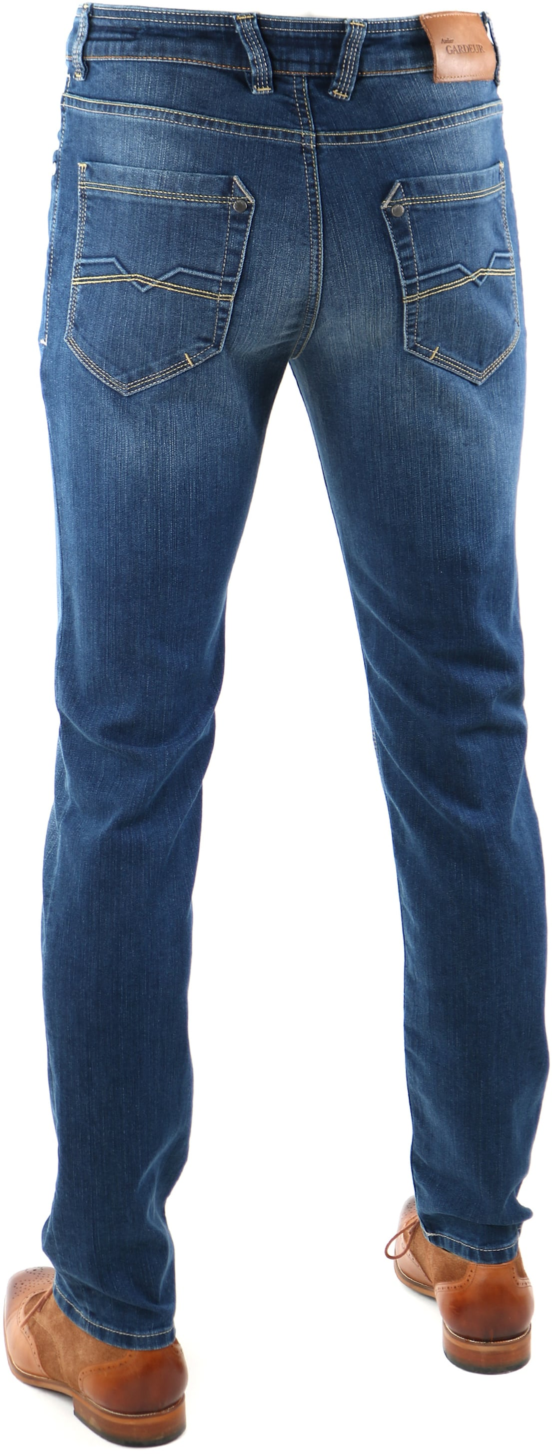 Gardeur Batu Jeans Blauw foto 3