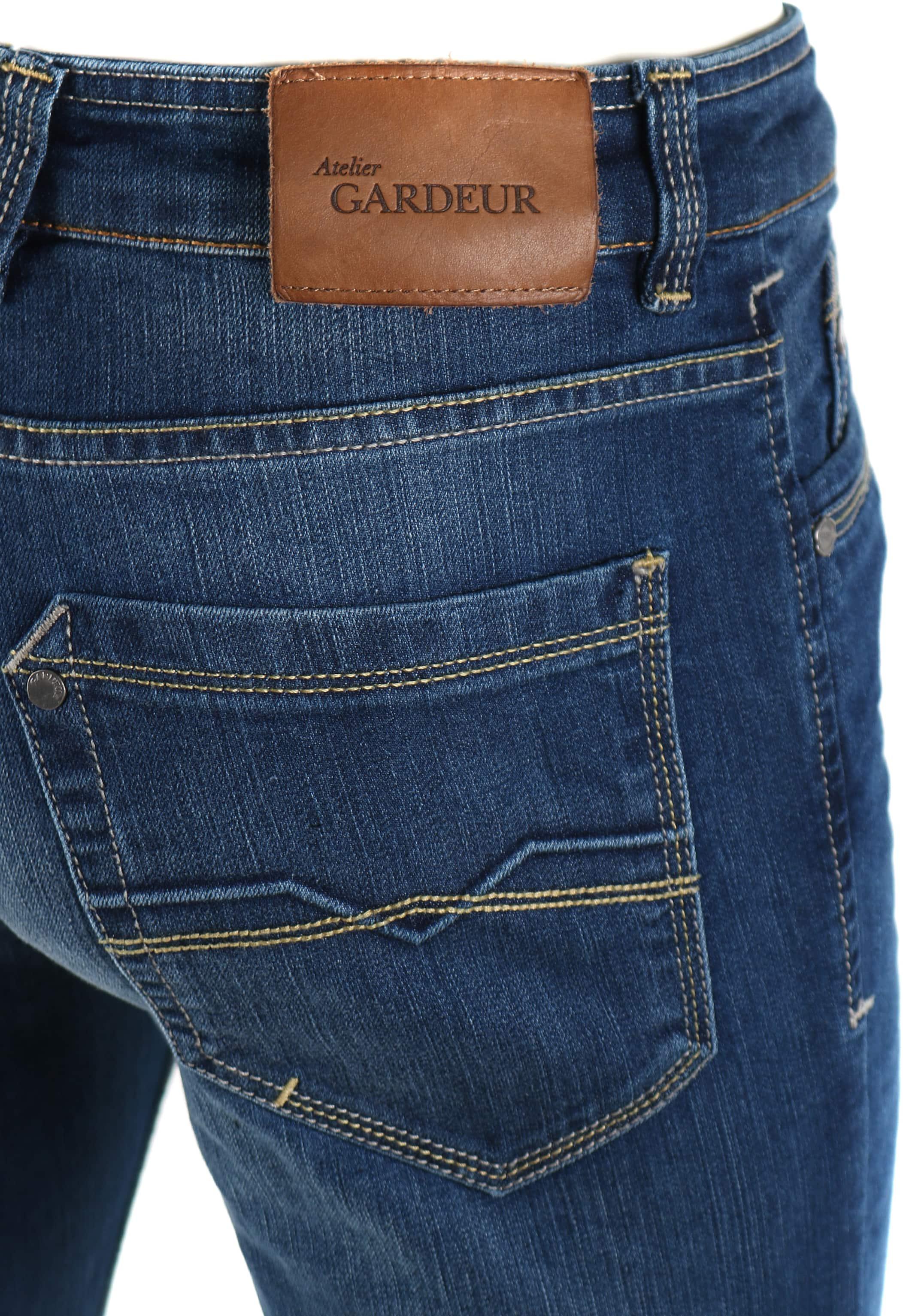 Gardeur Batu Jeans Blauw foto 2