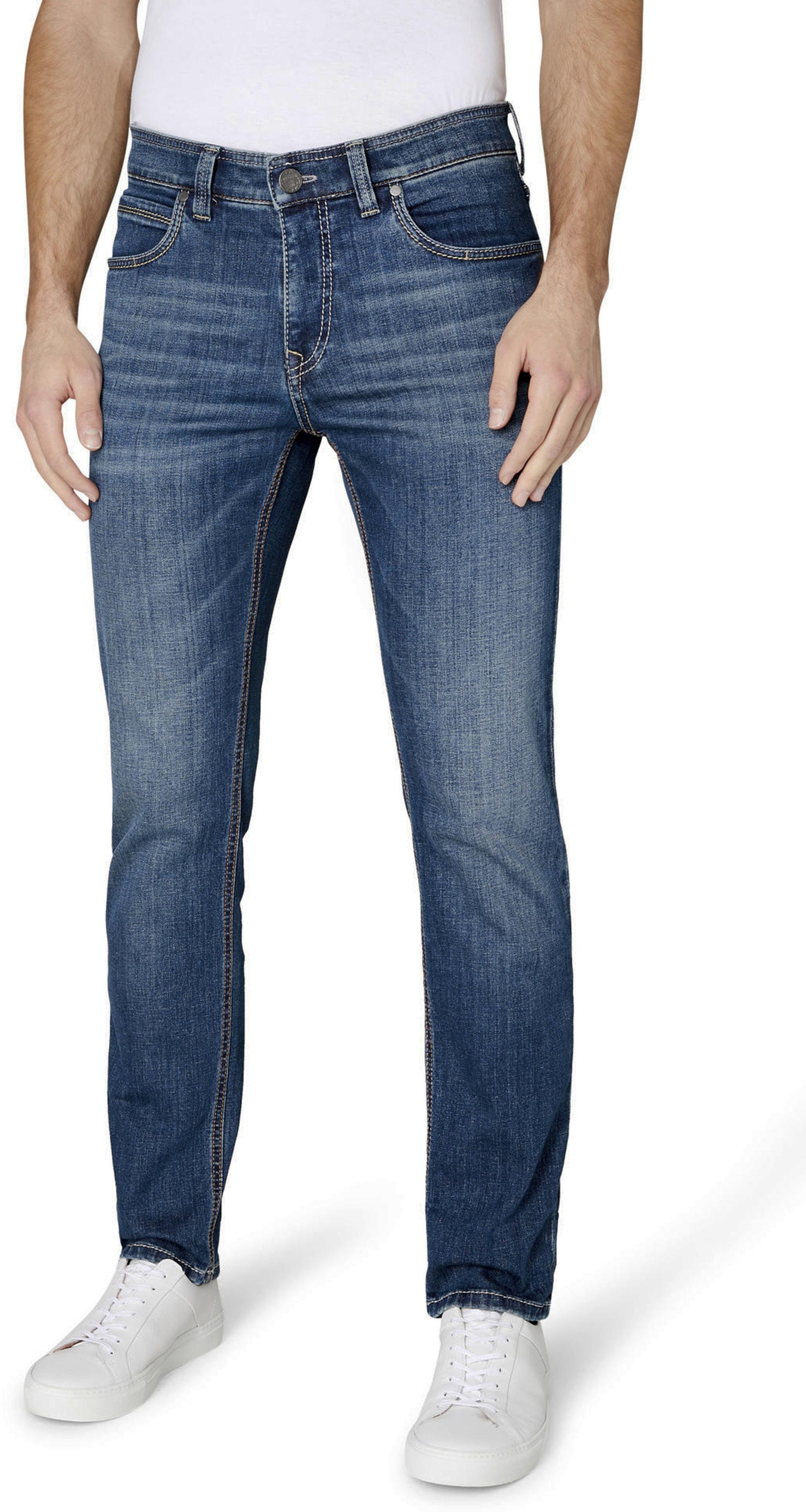 Gardeur Batu Jeans Blauw foto 4