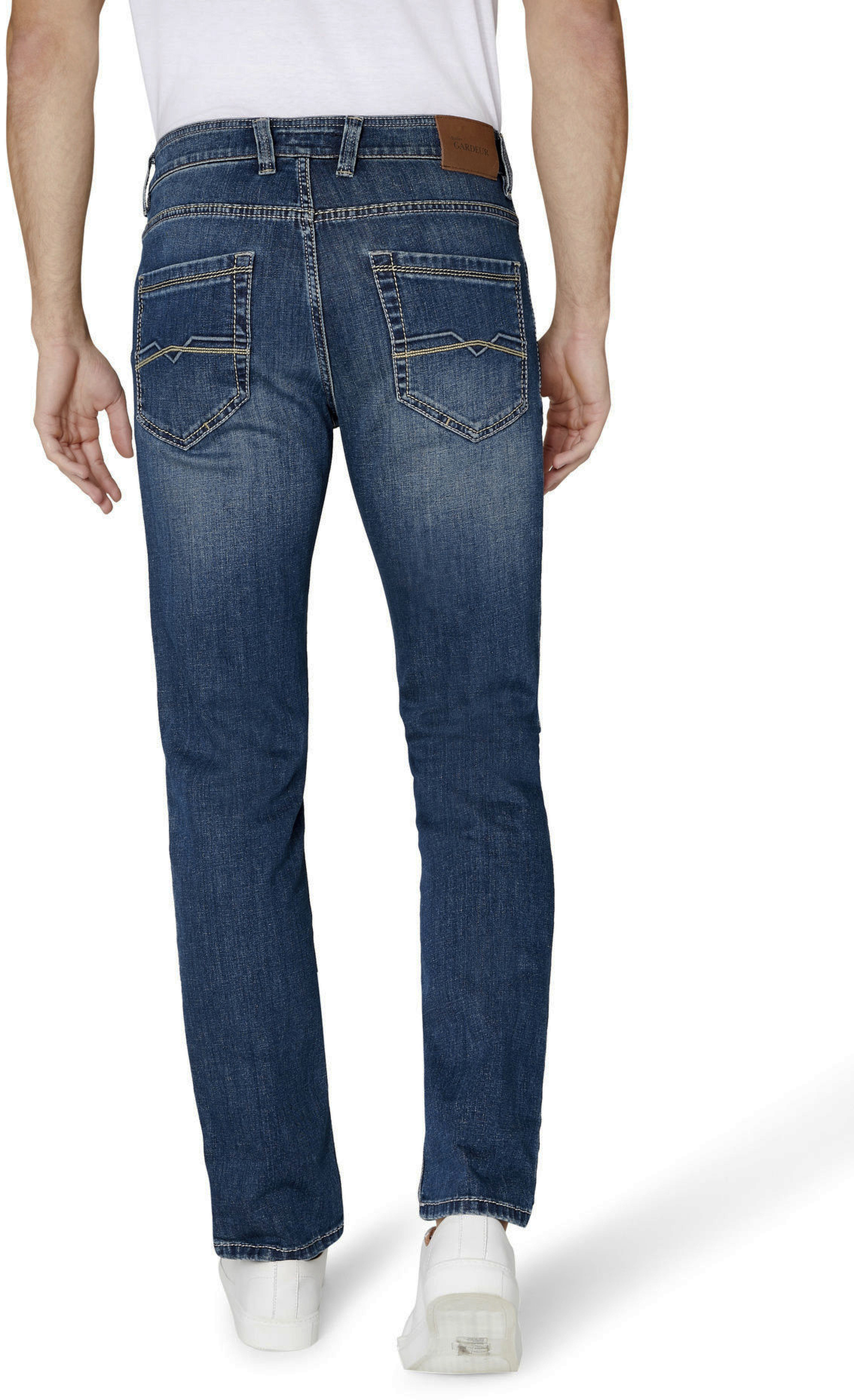 Gardeur Batu Jeans Blauw foto 5