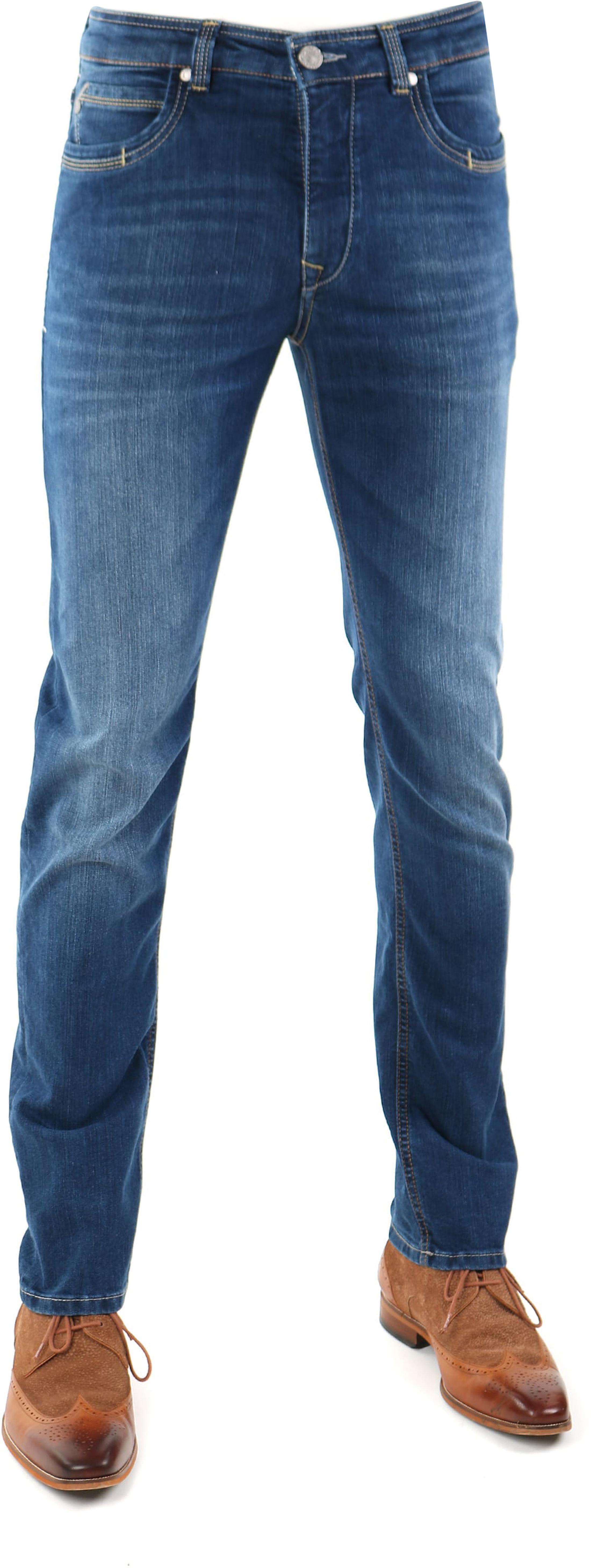 Gardeur Batu Jeans Modern-Fit Blau foto 0