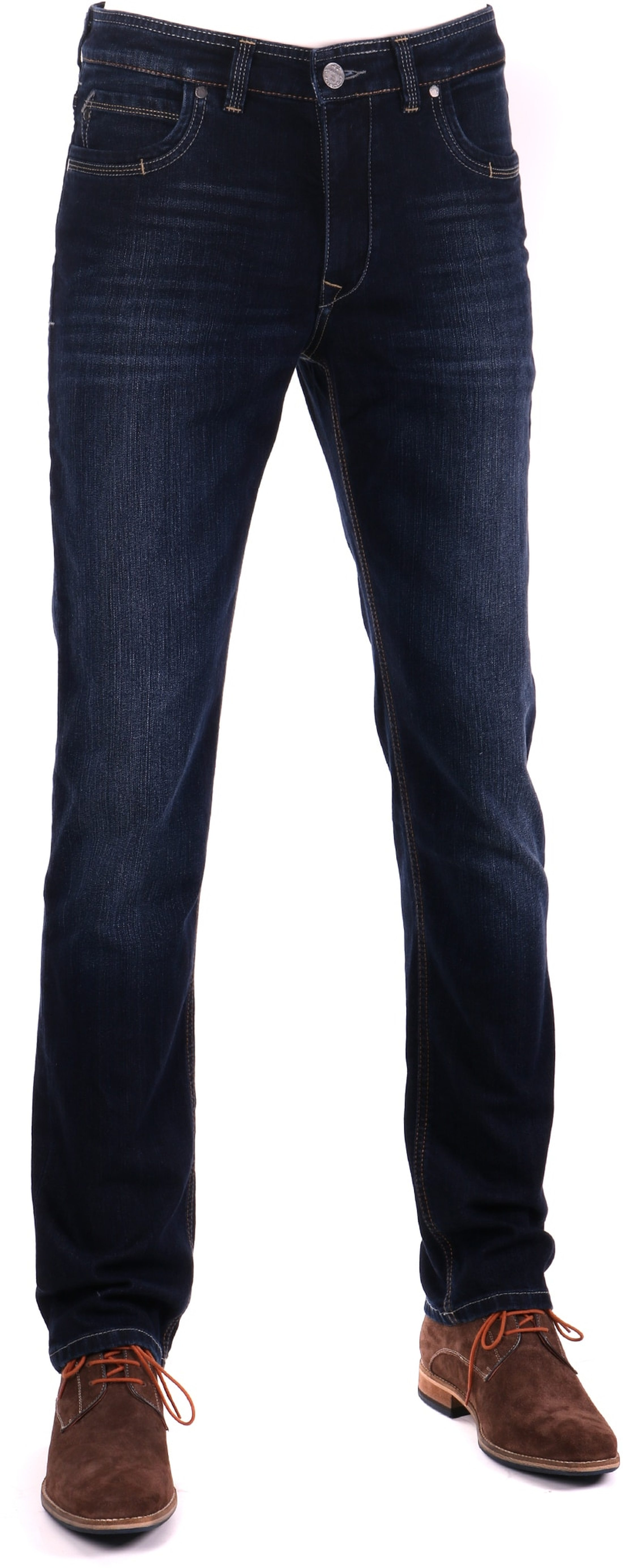 Gardeur Batu Modern-Fit Jeans Dunkelblau foto 0