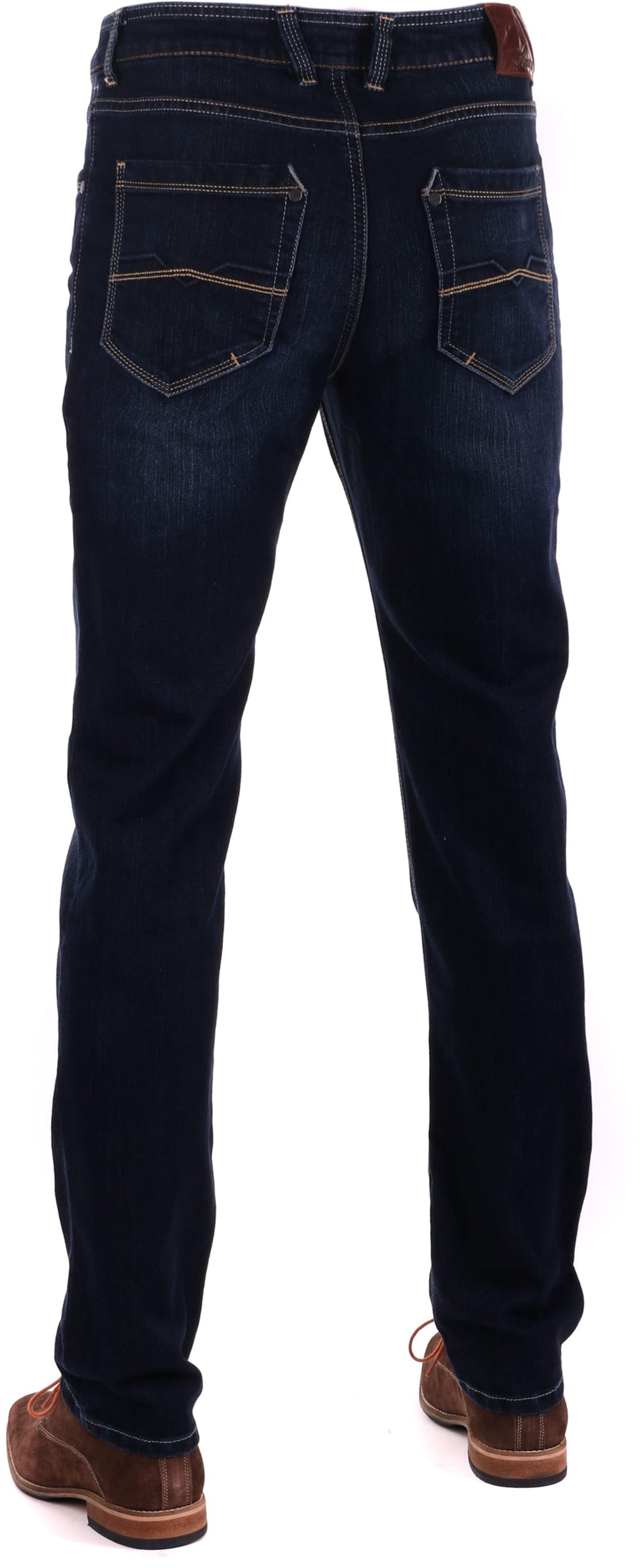 Gardeur Batu Modern-Fit Jeans Dunkelblau foto 1