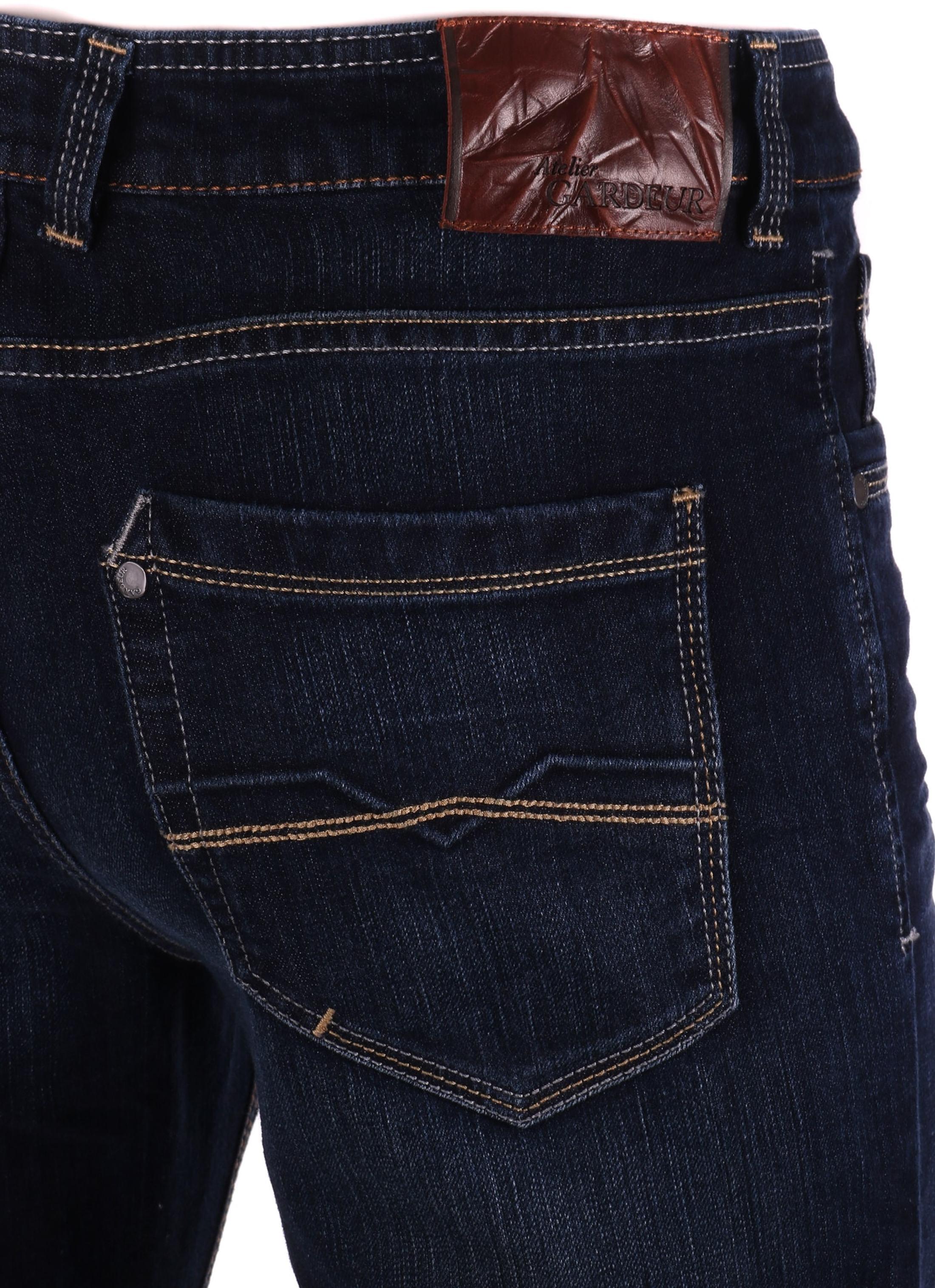Gardeur Batu Modern-Fit Jeans Dunkelblau foto 4