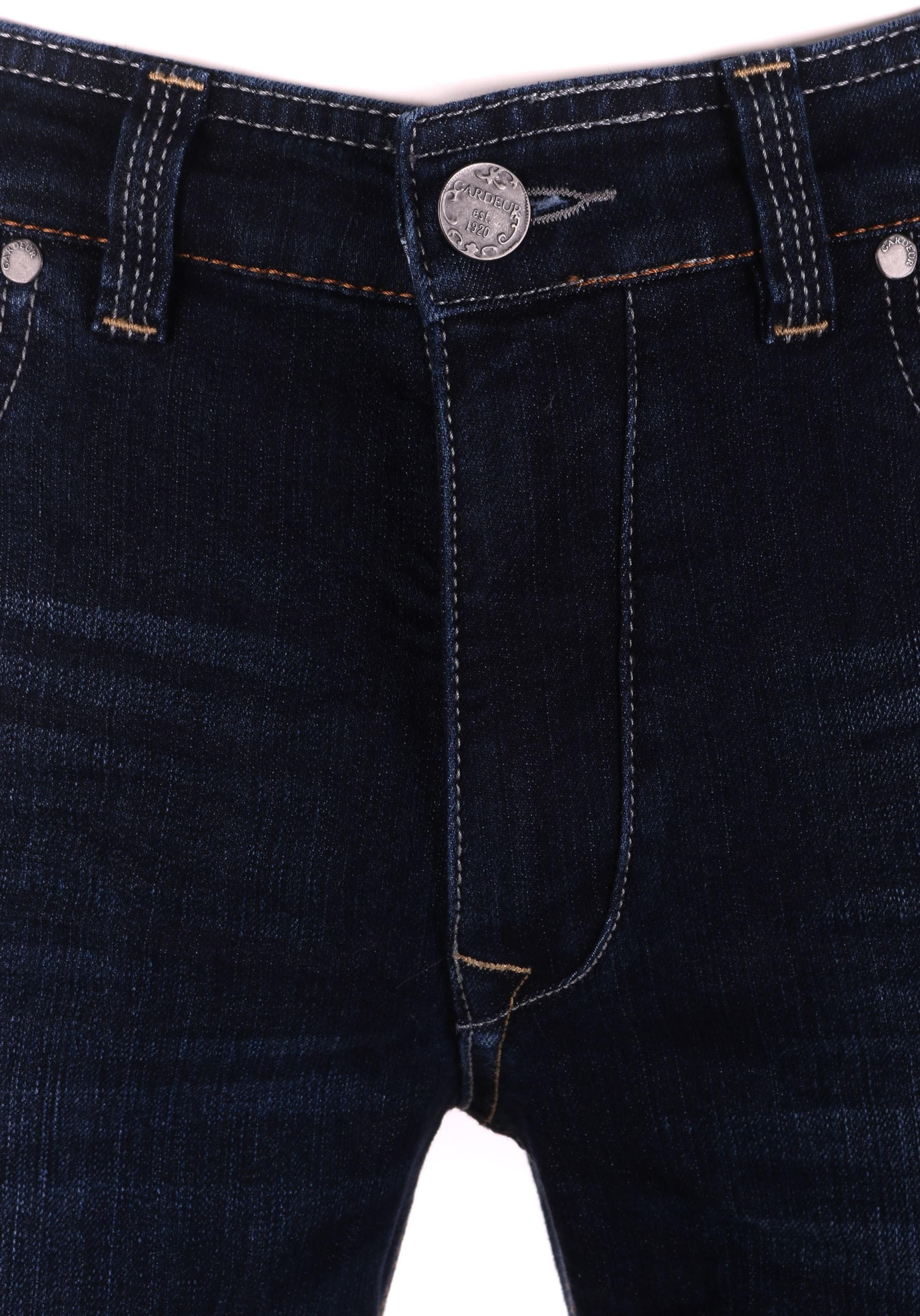 Gardeur Batu Modern-Fit Spijkerbroek Dark Blue foto 2