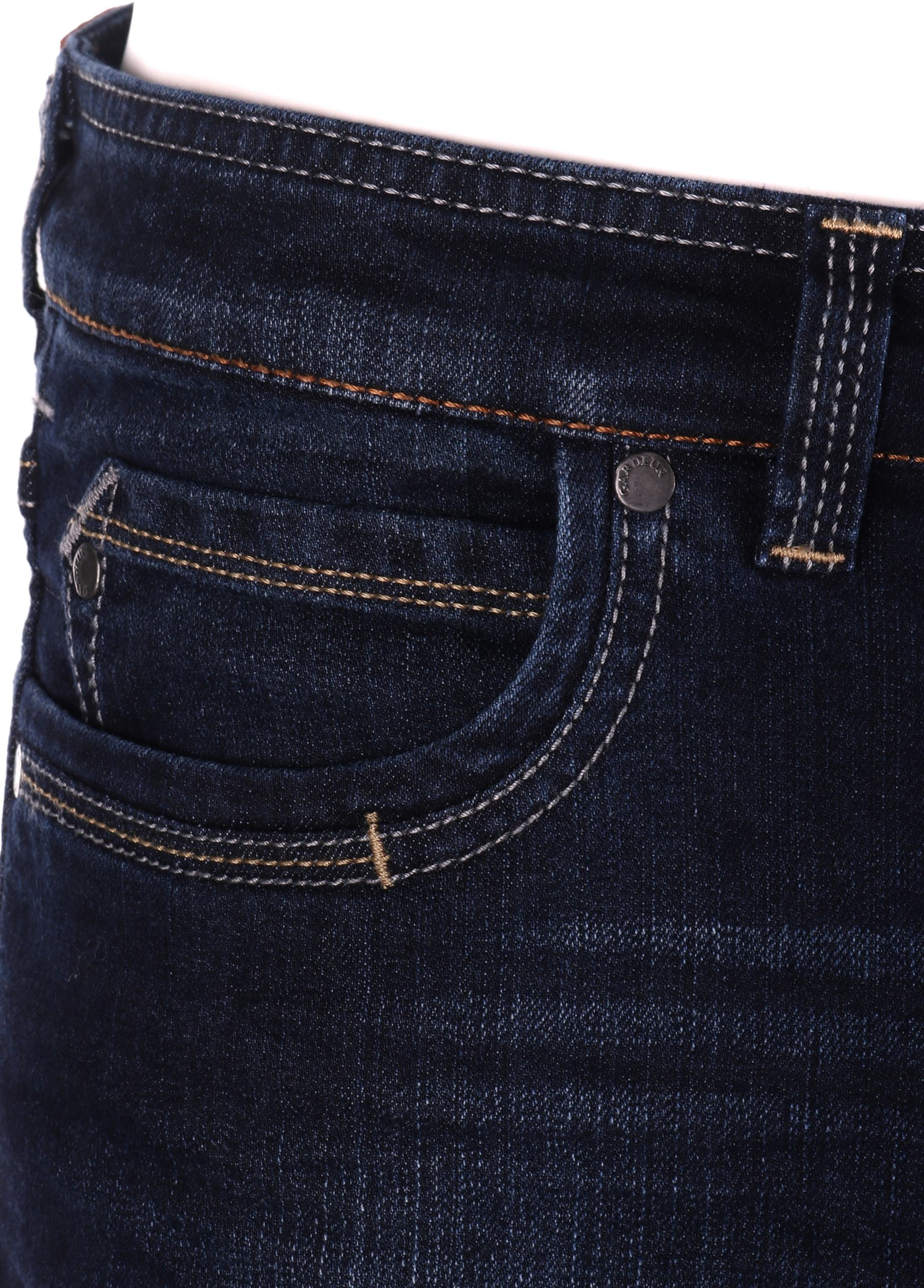 Gardeur Batu Modern-Fit Spijkerbroek Dark Blue foto 3