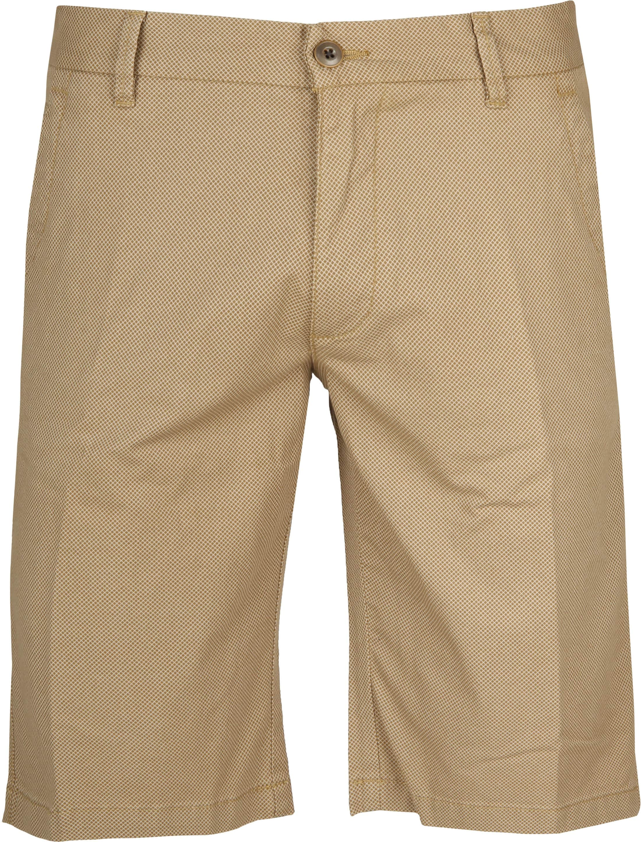 Gardeur Shorts Bermuda Dessin Brown