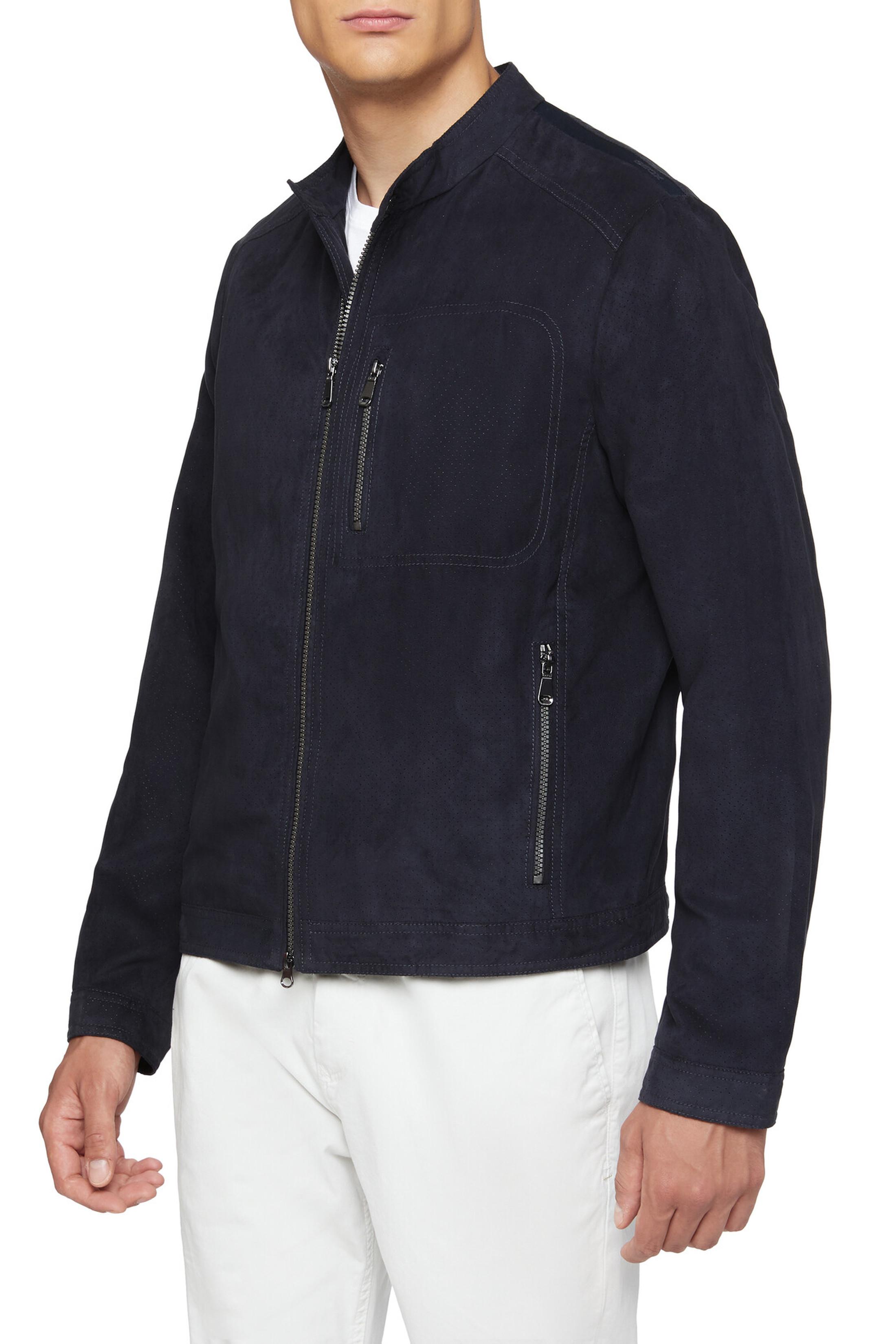 Geox Coat Blainey Biker Navy foto 6