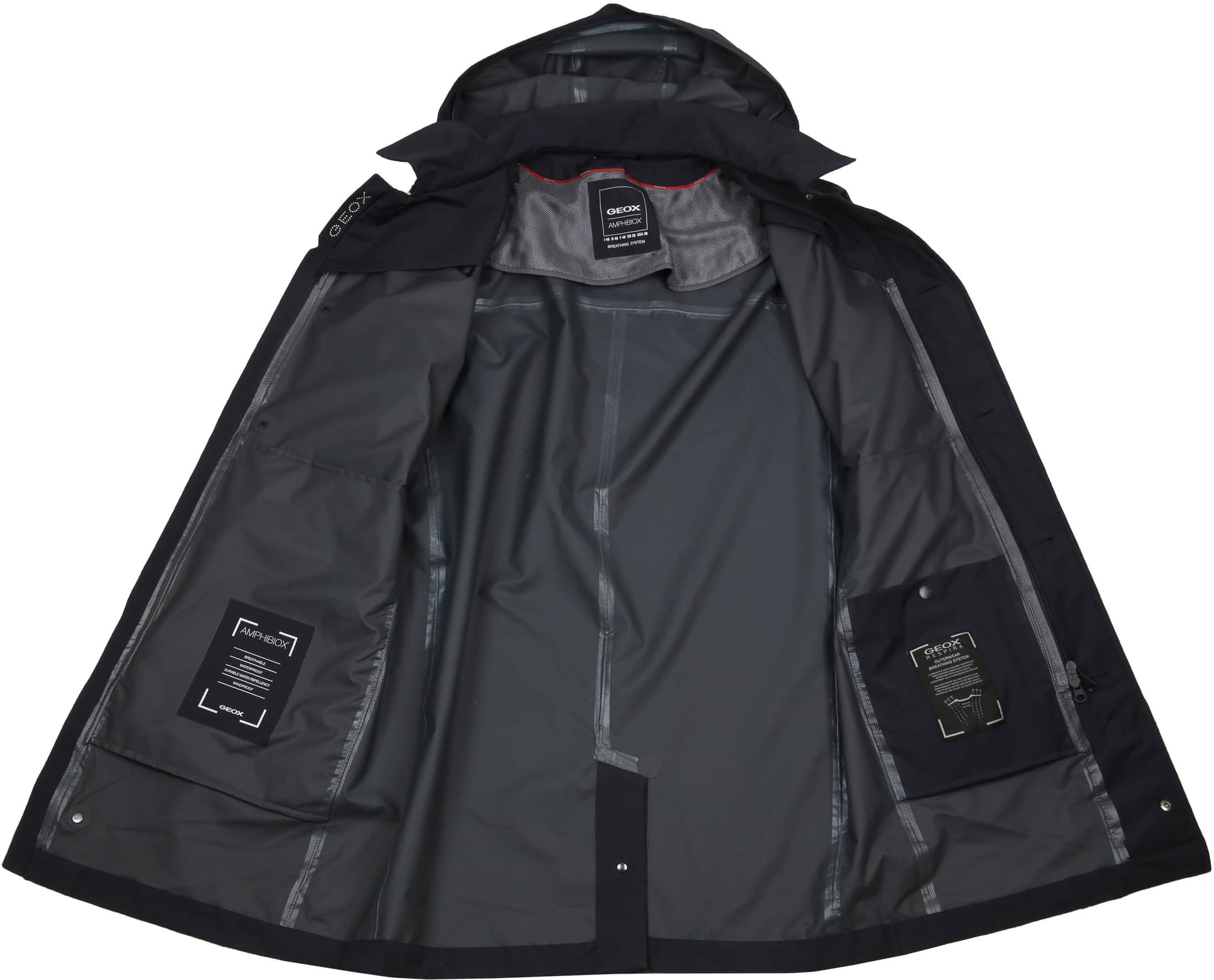 Geox Coat Sandford Navy foto 7