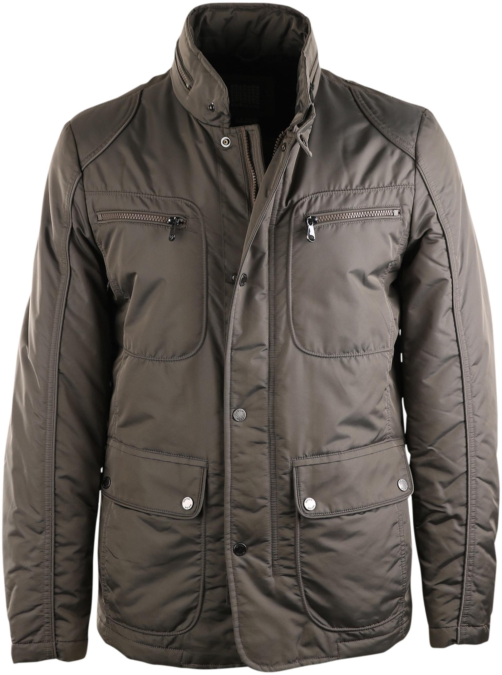 f7eb1589dd Geox Jacket Biker Beige order online | Suitable