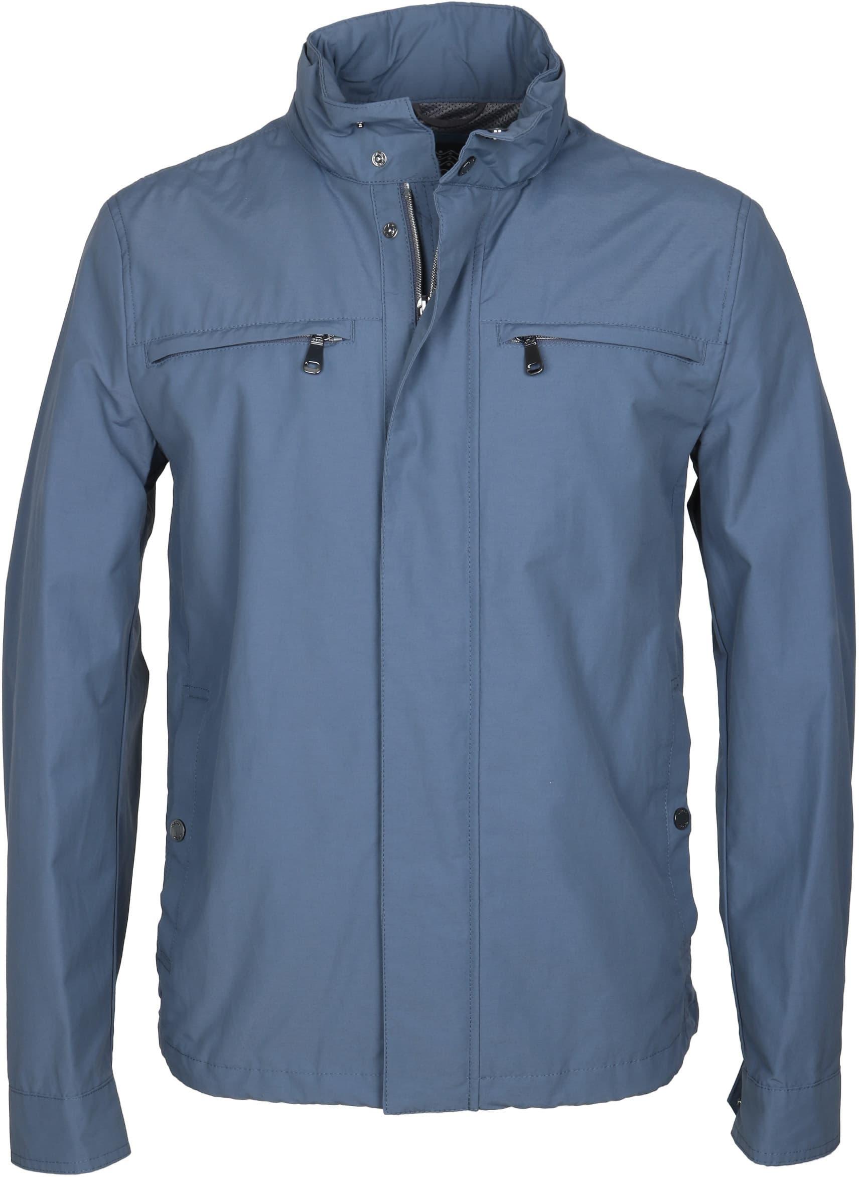 feinste Auswahl billig werden verschiedene Farben Geox Jacket Jackie Blue Indigo