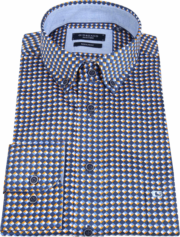 Giordano Kennedy Shirt Dessin foto 2