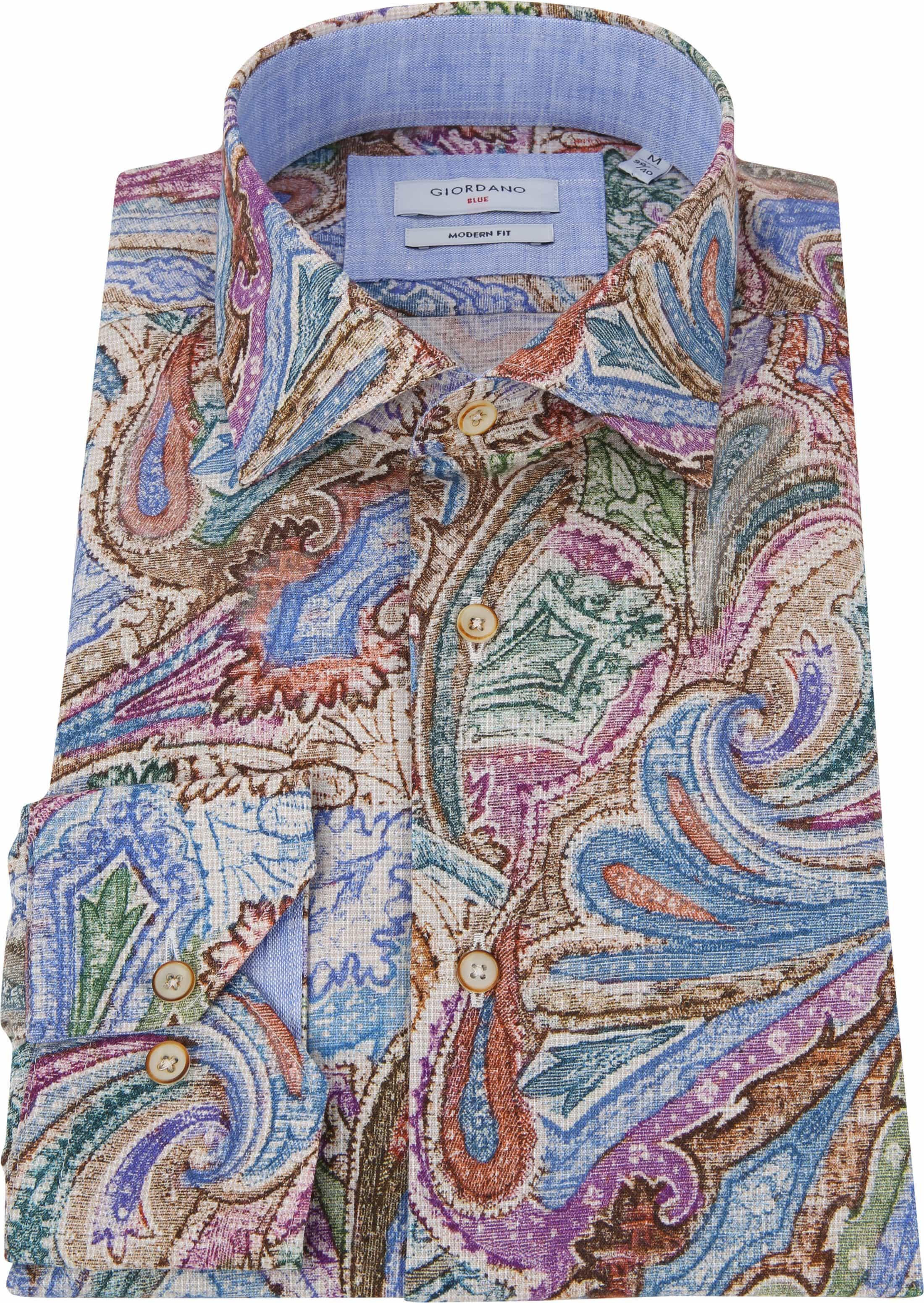 Giordano Overhemd Baggio Multicolour foto 3