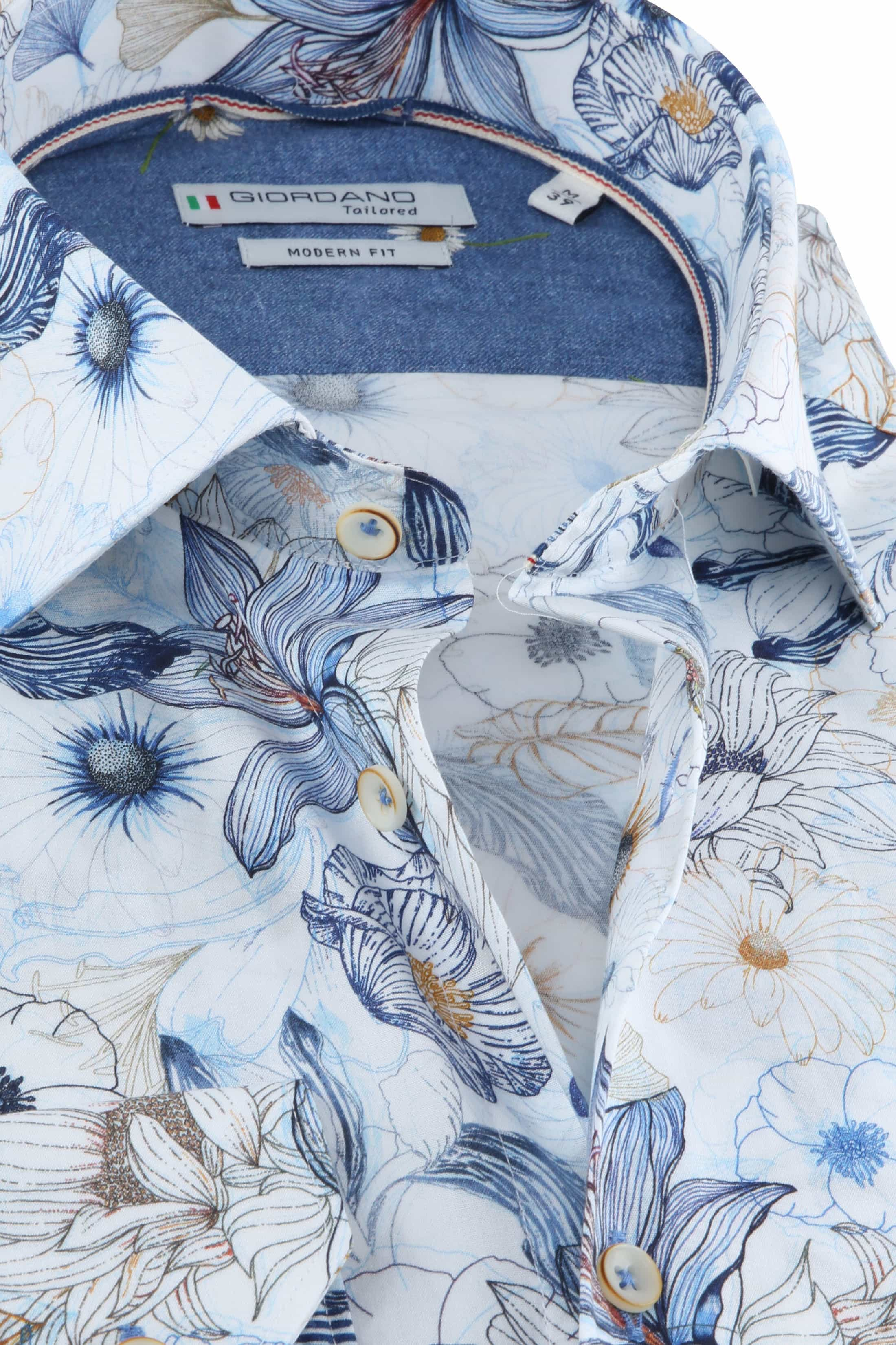 Giordano Overhemd Maggiore Blauw