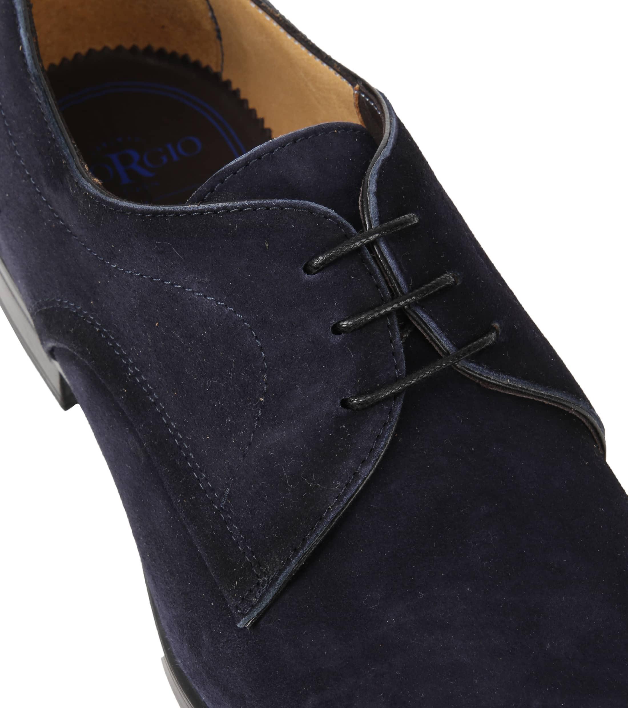 Giorgio Amalfi Shoe Suede Deep Blue foto 1