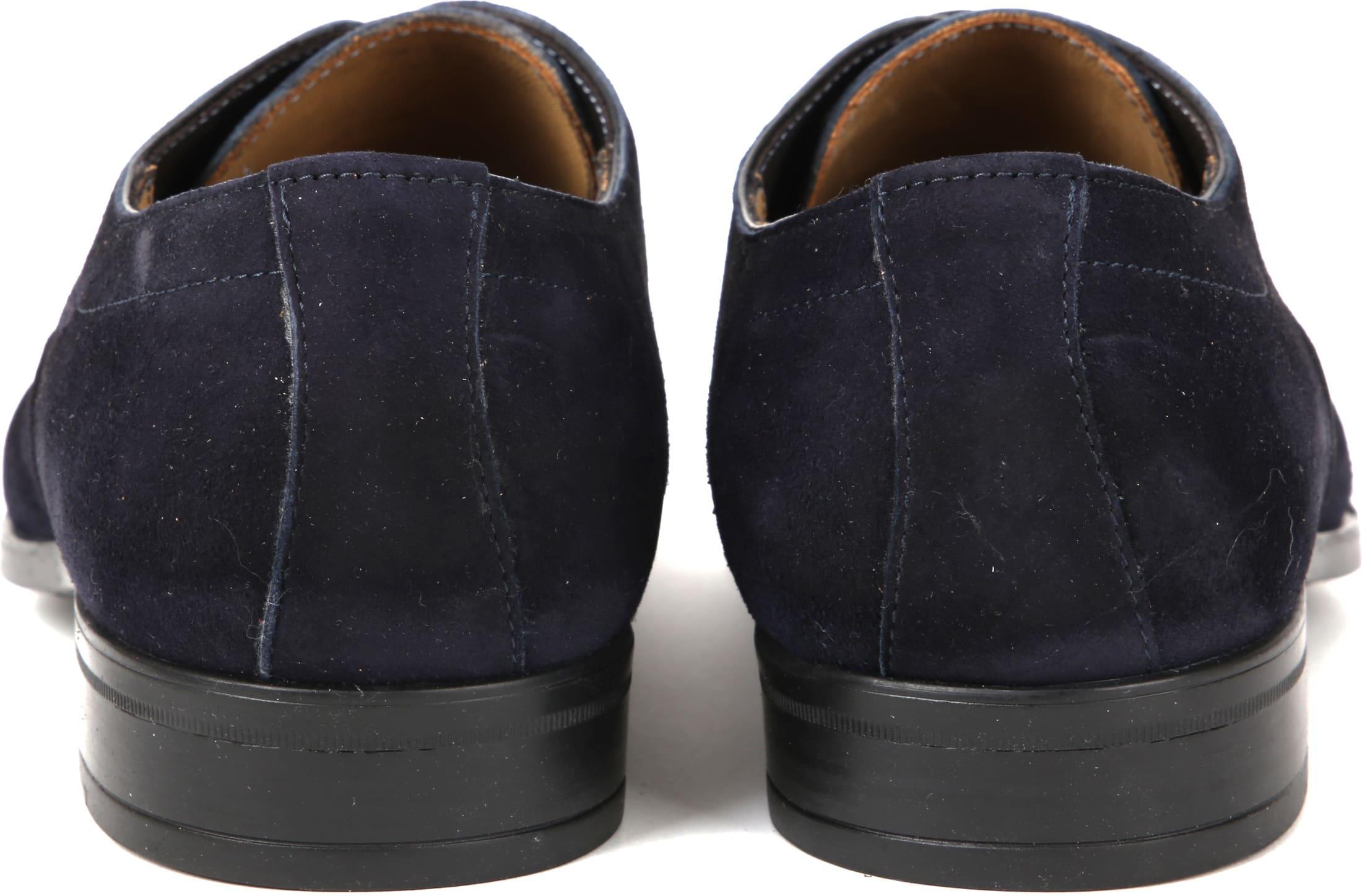 Giorgio Amalfi Shoe Suede Deep Blue foto 2