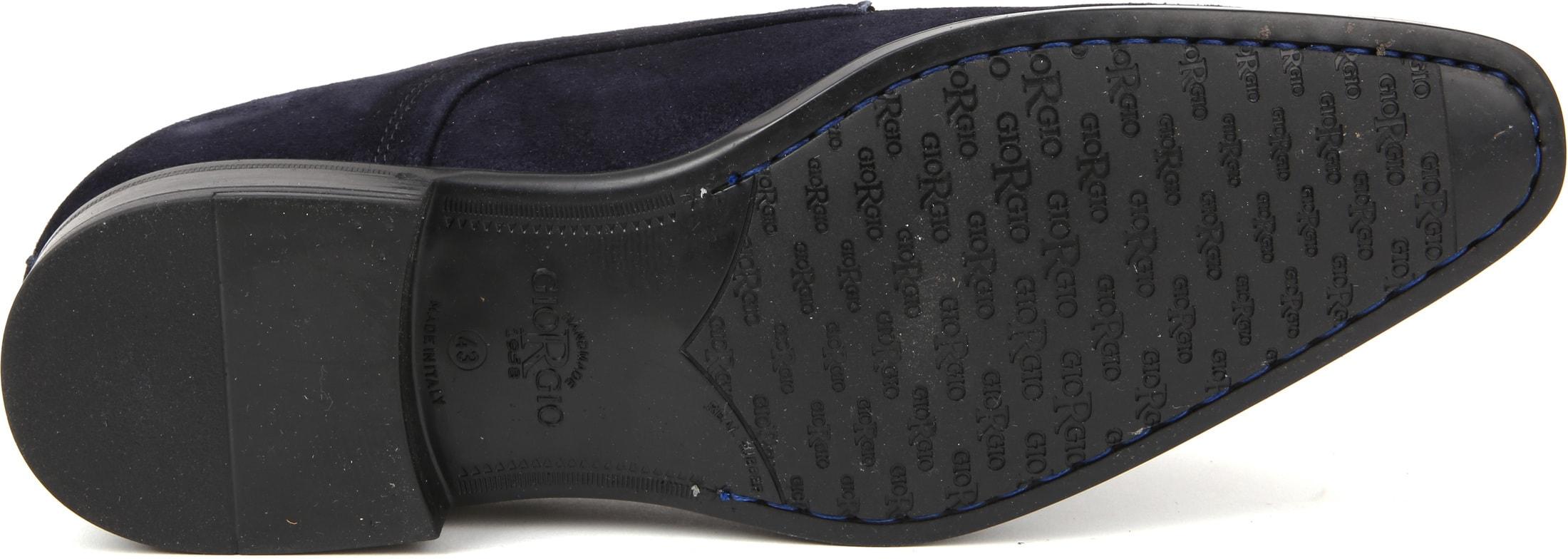Giorgio Amalfi Shoe Suede Deep Blue foto 3