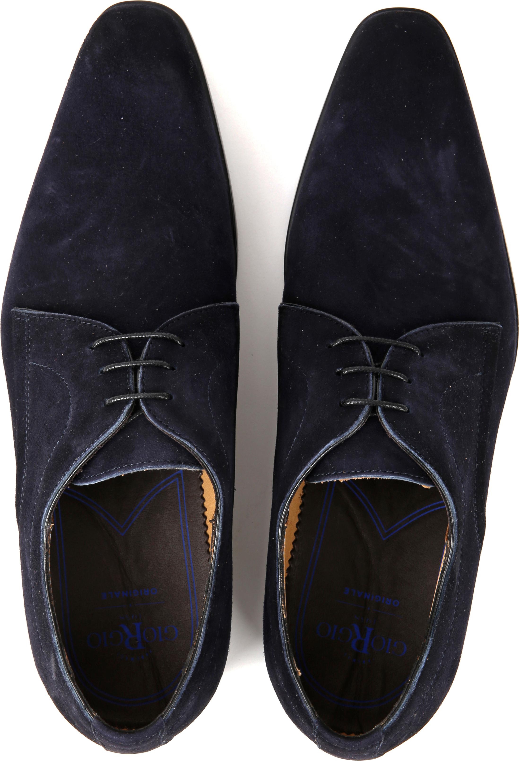 Giorgio Amalfi Shoe Suede Deep Blue foto 4