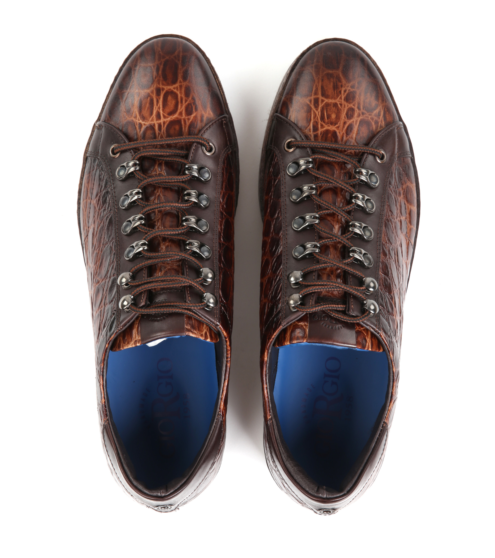 Giorgio Babilas Sneaker Cognac foto 2