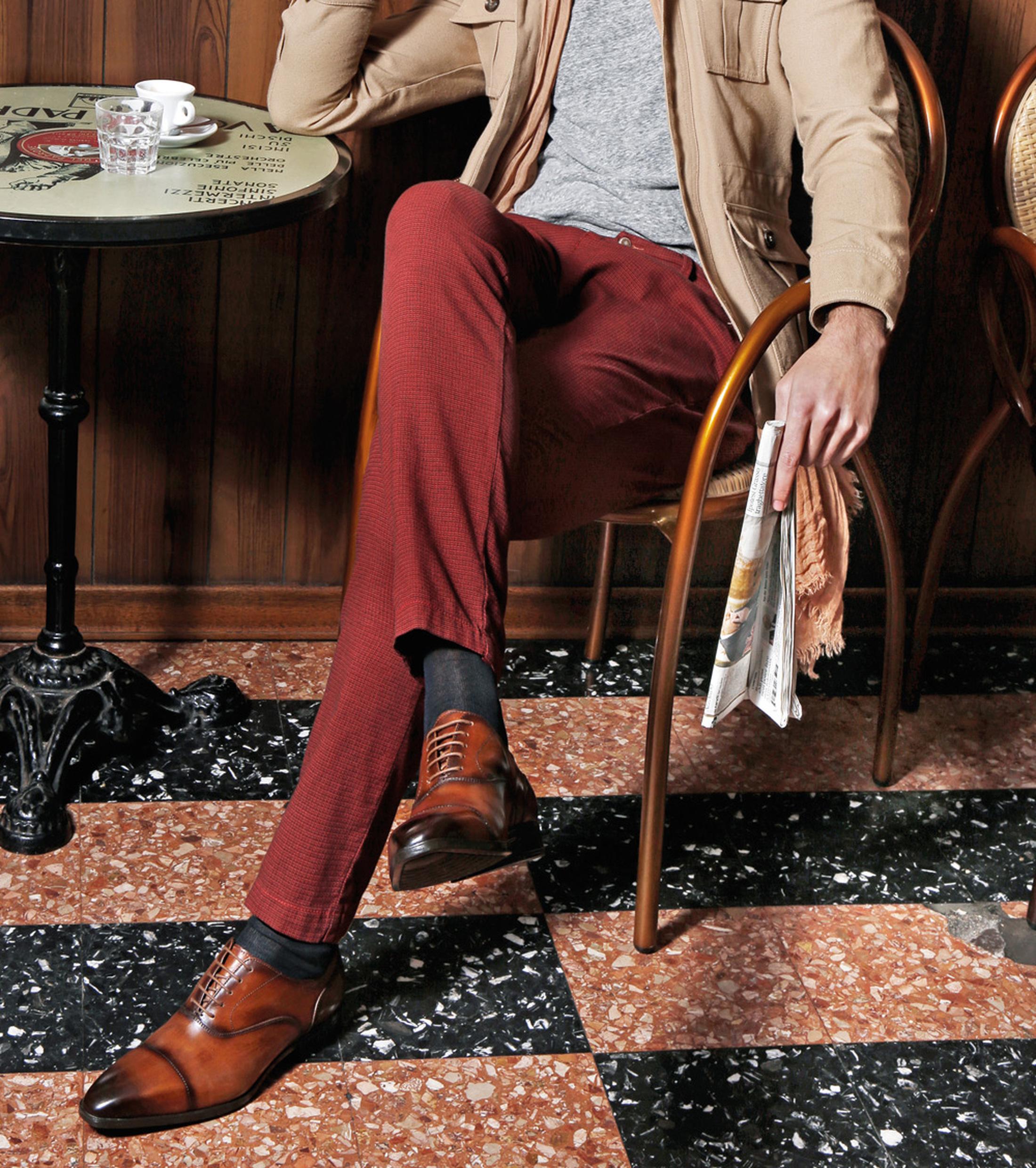 Giorgio Bellaria Veterschoen Cognac foto 5