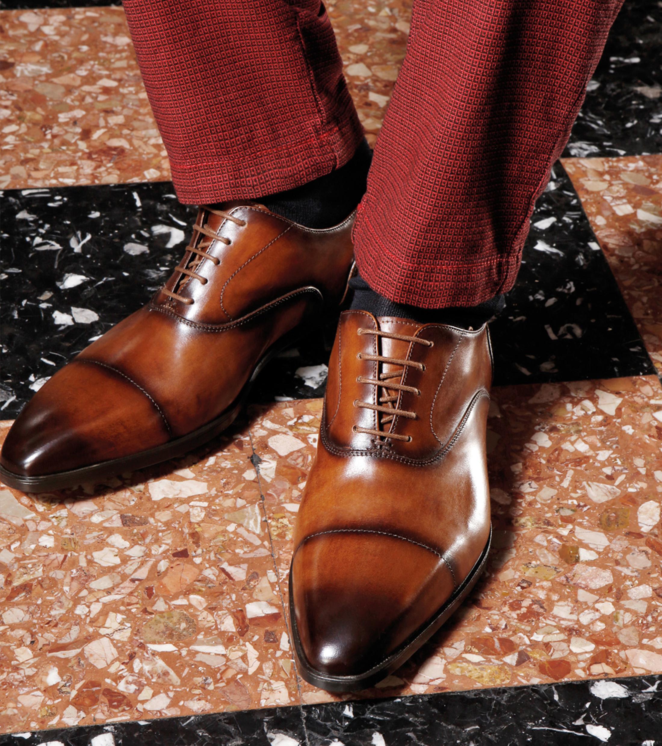 Giorgio Bellaria Veterschoen Cognac foto 6