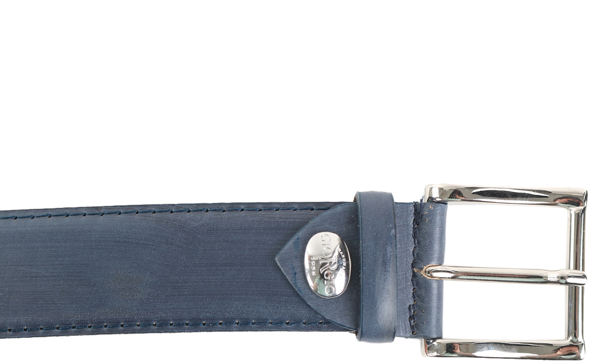 Giorgio Belt Bellaria Navy Leather foto 2