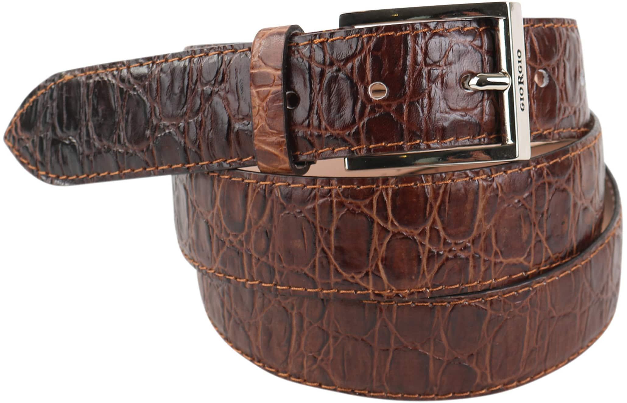 kijk uit voor geweldige selectie gratis bezorging Giorgio Riem Cognac Croco Leer HEC1023-F-11 online bestellen ...