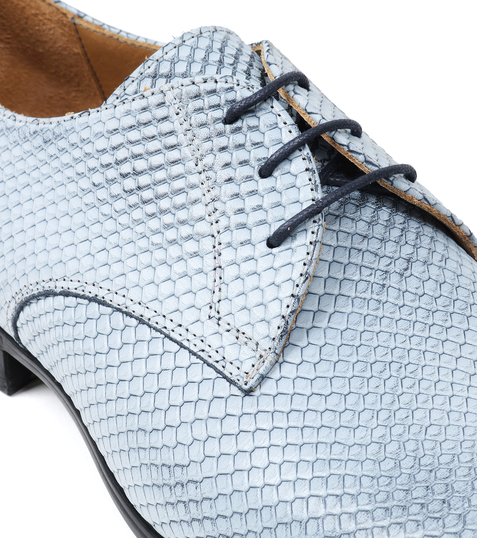 Chaussure Giorgio 3d Imprimé Bleu I15AlO5